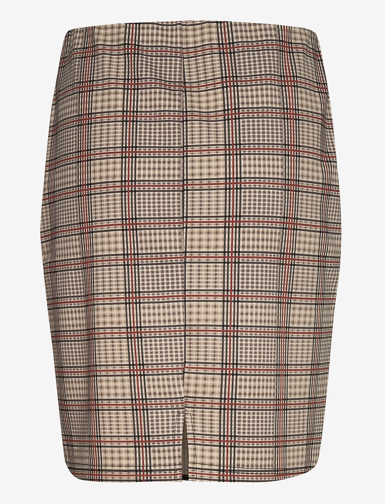 Fransa - FRLECHECK 2 Skirt - midi - barn red mix - 1