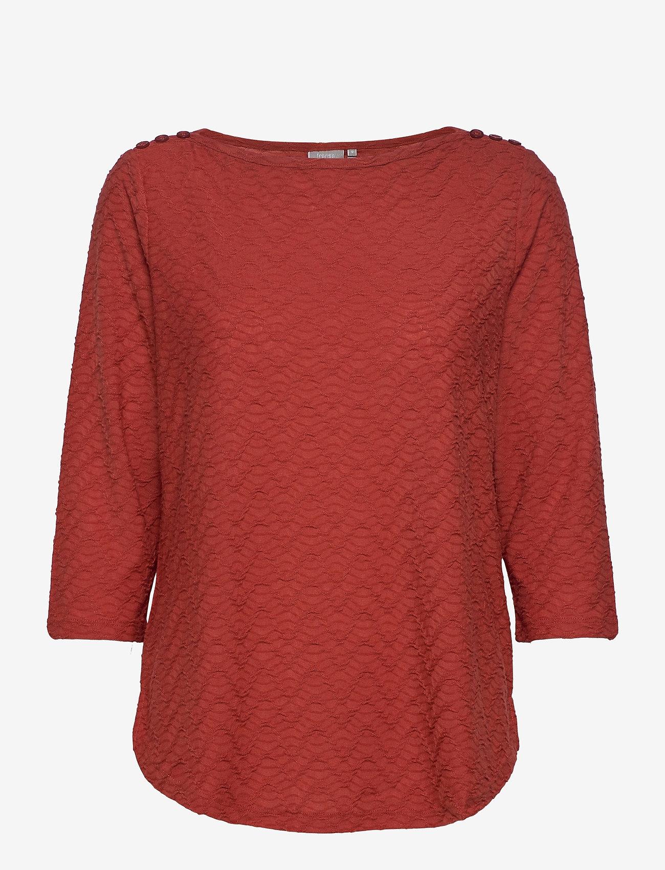 Fransa - FRLEJACQ 1 T-shirt - t-shirts - barn red - 0