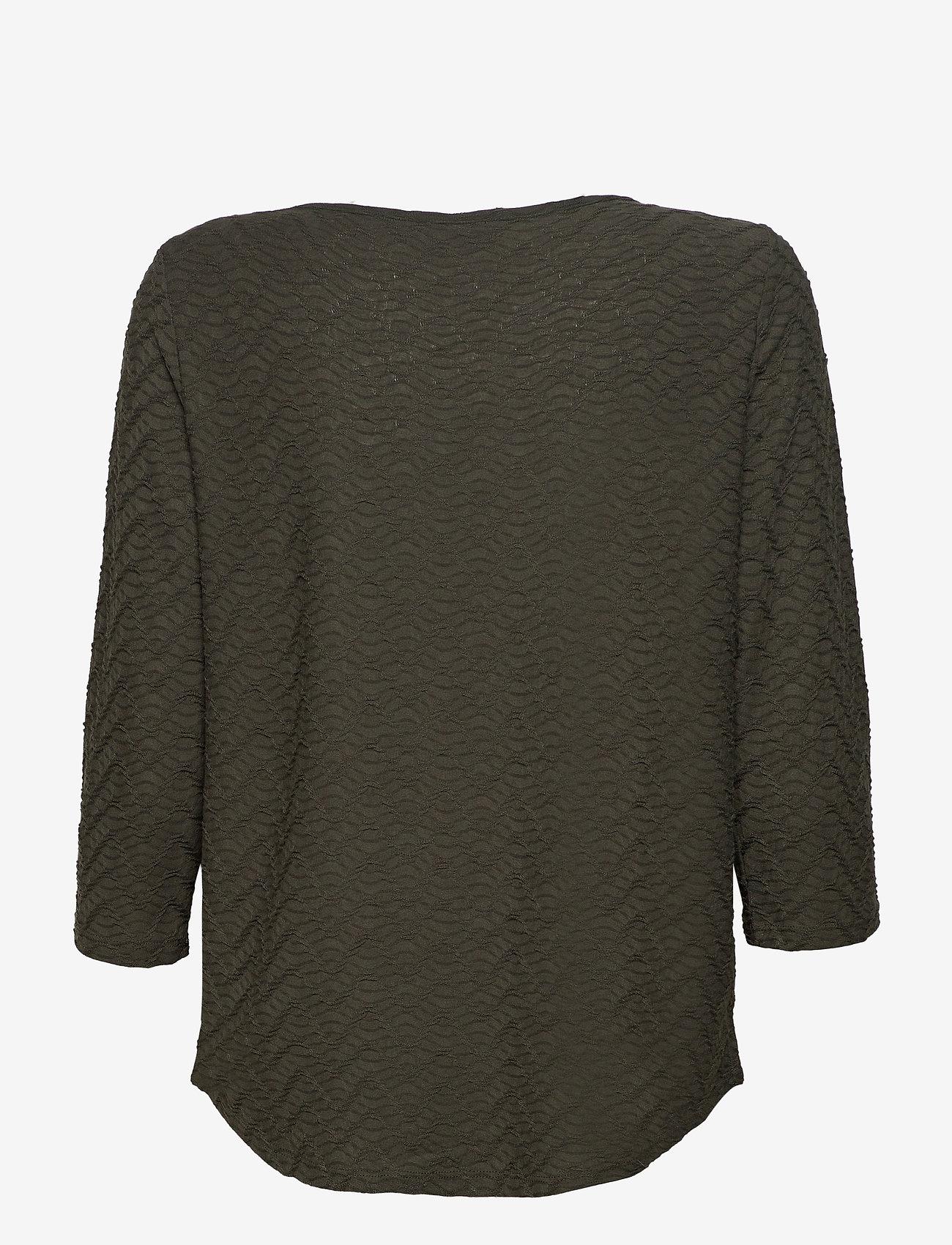 Fransa - FRLEJACQ 1 T-shirt - t-shirts - green ink - 1