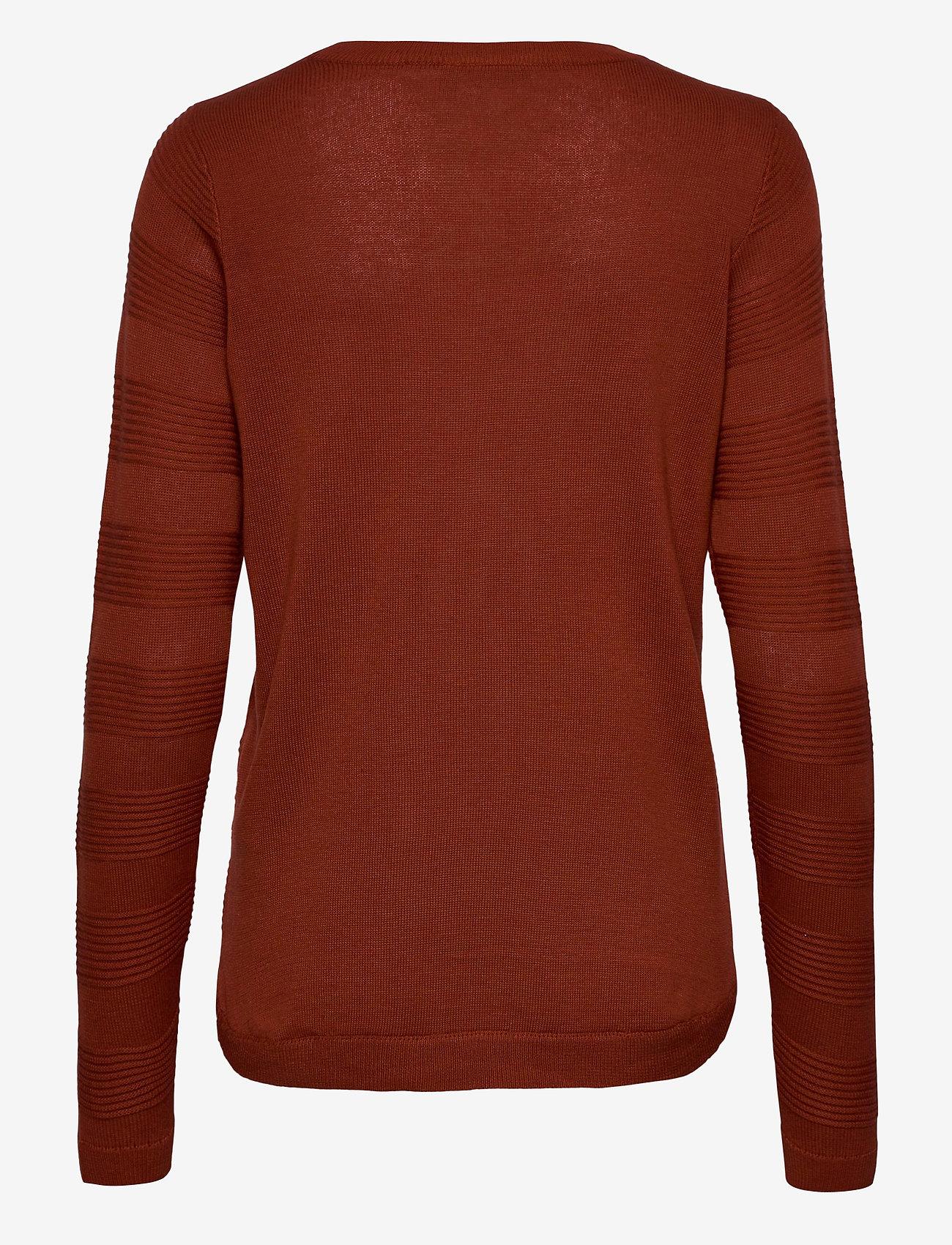 Fransa - FRLETAN 3 Pullover - jumpers - barn red - 1