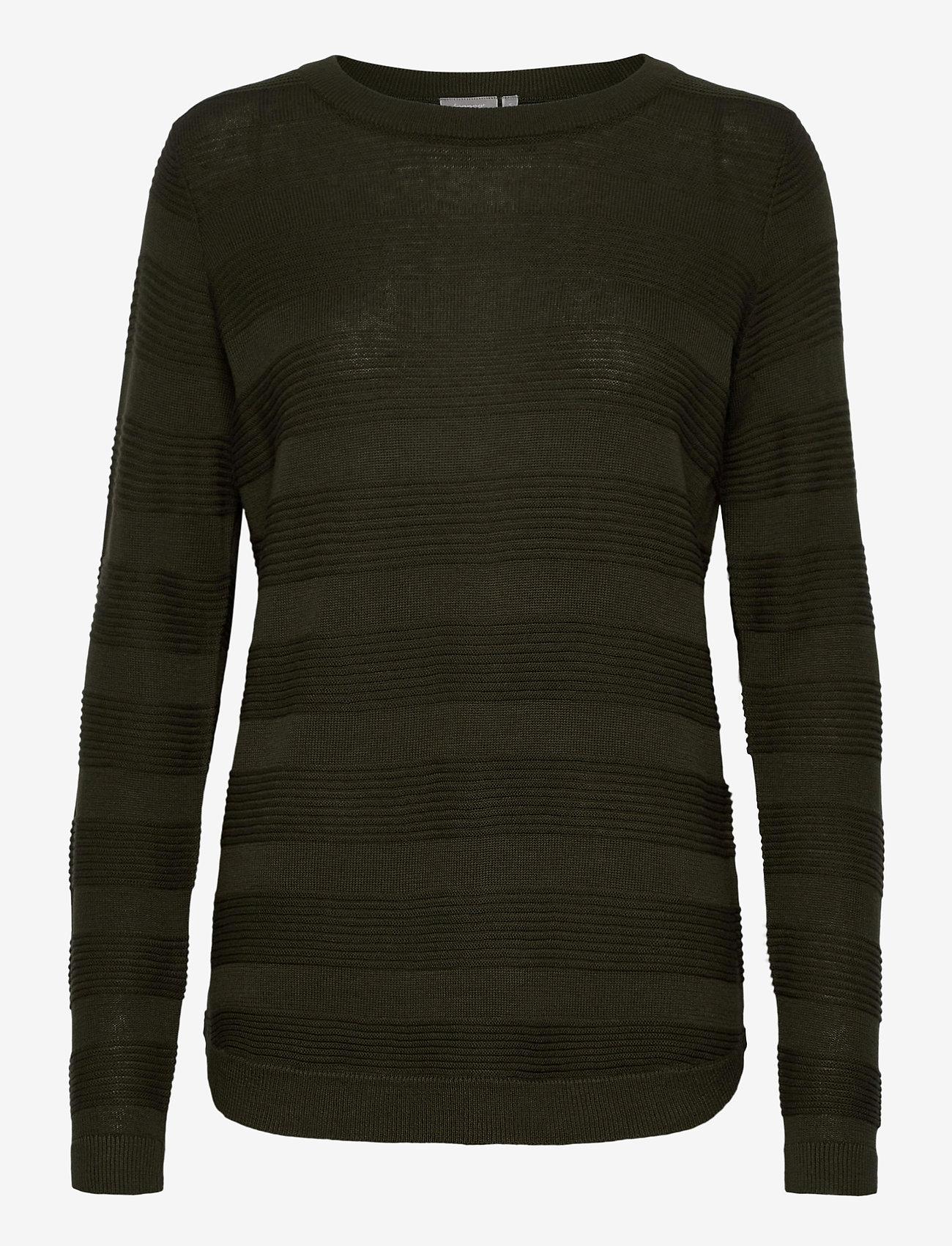 Fransa - FRLETAN 3 Pullover - jumpers - green ink - 0