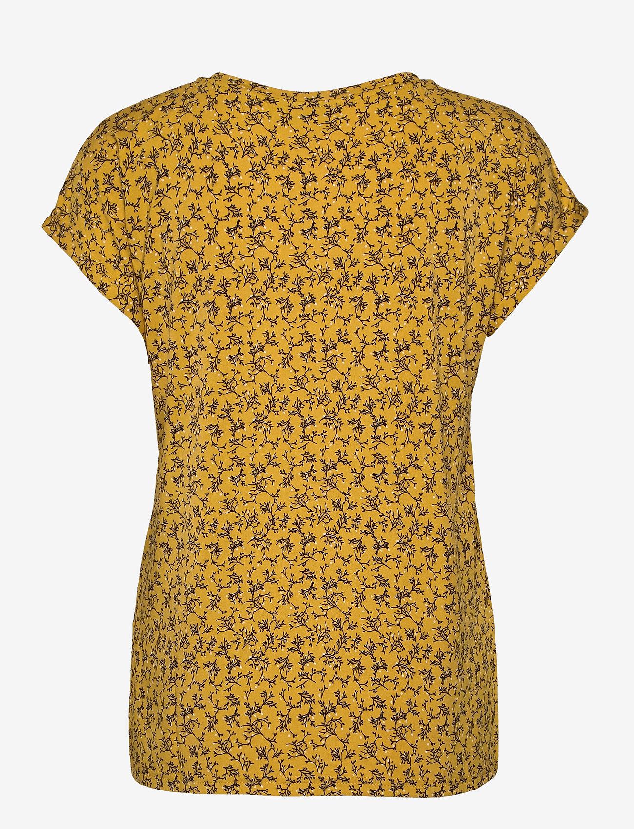 Fransa - FRLESEEN 1 T-shirt - t-shirts - harvest gold mix - 1