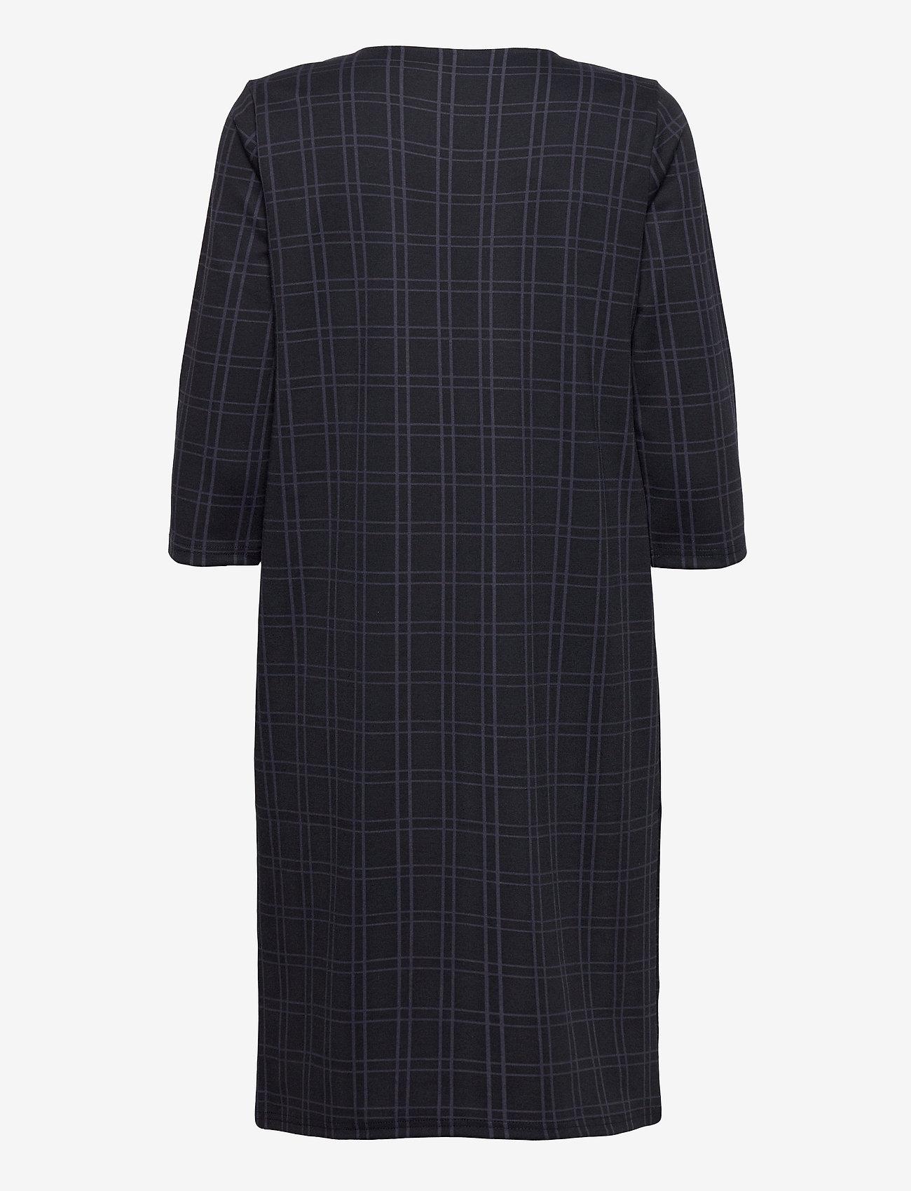 Fransa - FRMECHECK 2 Dress - midi jurken - navy blazer mix - 1