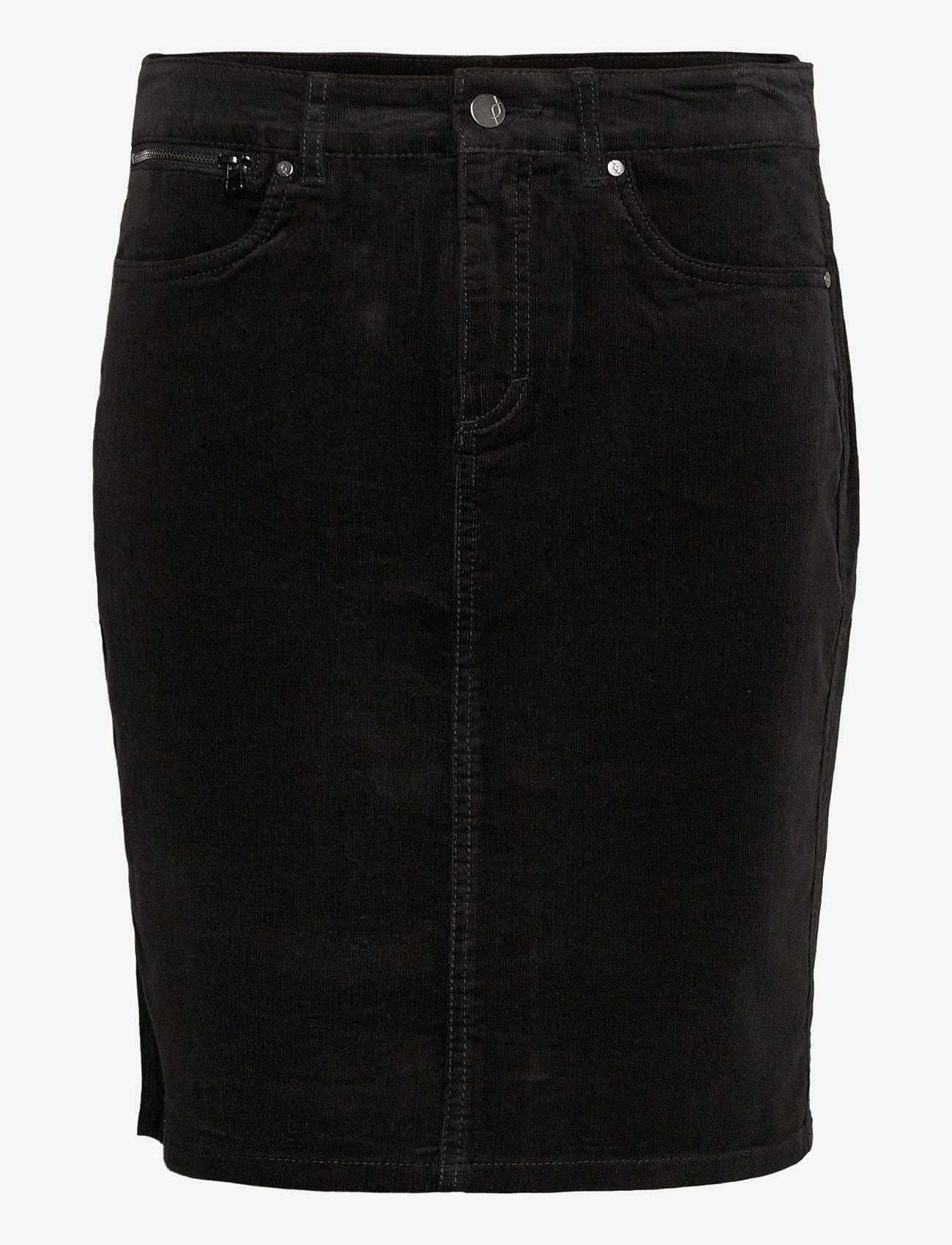 Fransa - FRMACORD 2 Skirt - kynähame - black - 0