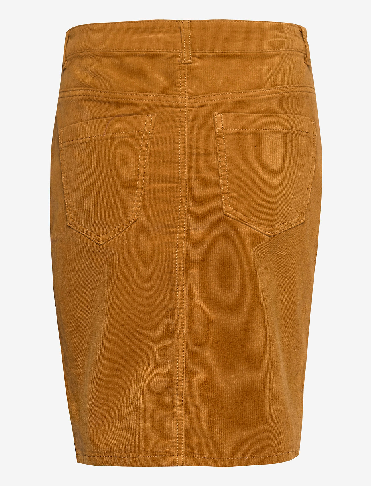 Fransa - FRMACORD 2 Skirt - pencil skirts - cathay spice - 1