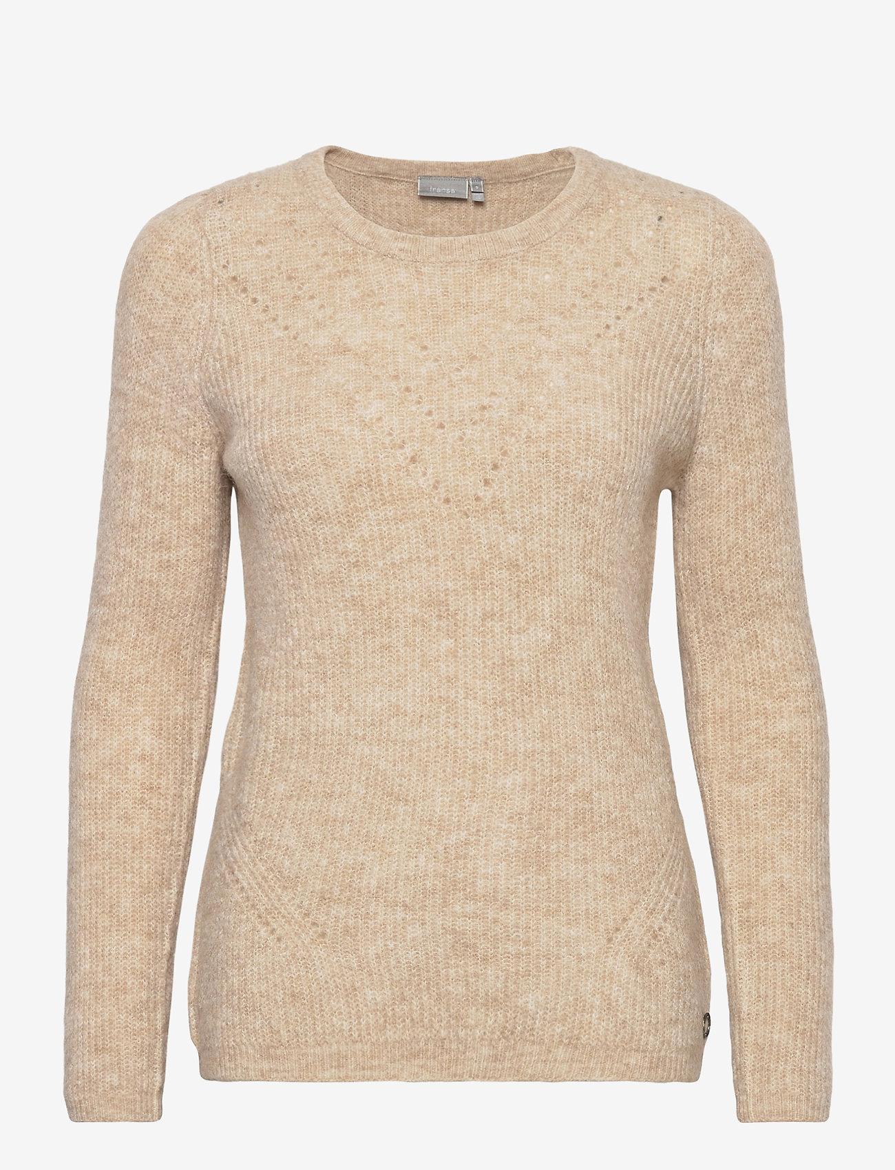Fransa - FRMESANDY 1 Pullover - jumpers - beige melange - 0