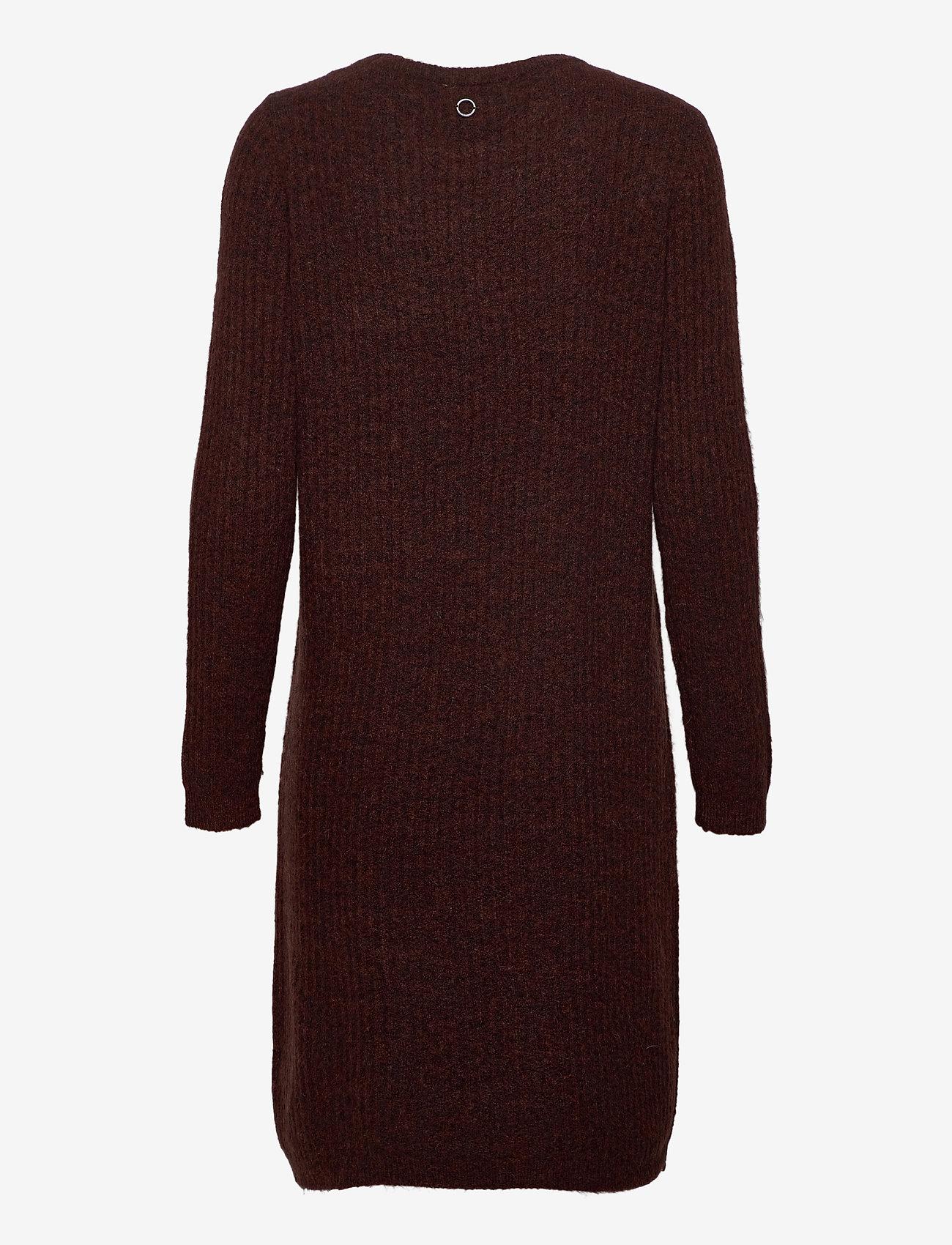 Fransa - FRMESANDY 3 Dress - gebreide jurken - chocolate fondant melange - 1