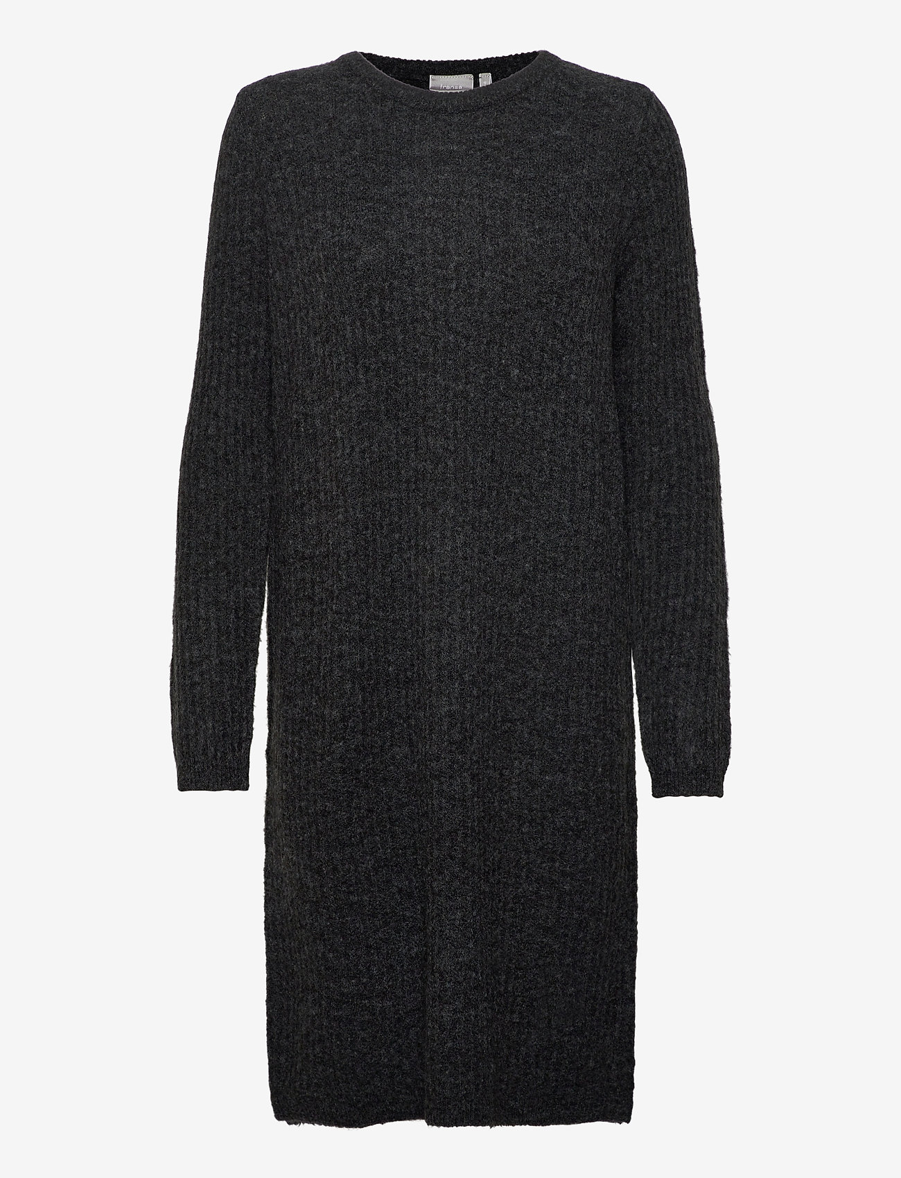 Fransa - FRMESANDY 3 Dress - gebreide jurken - black melange - 0