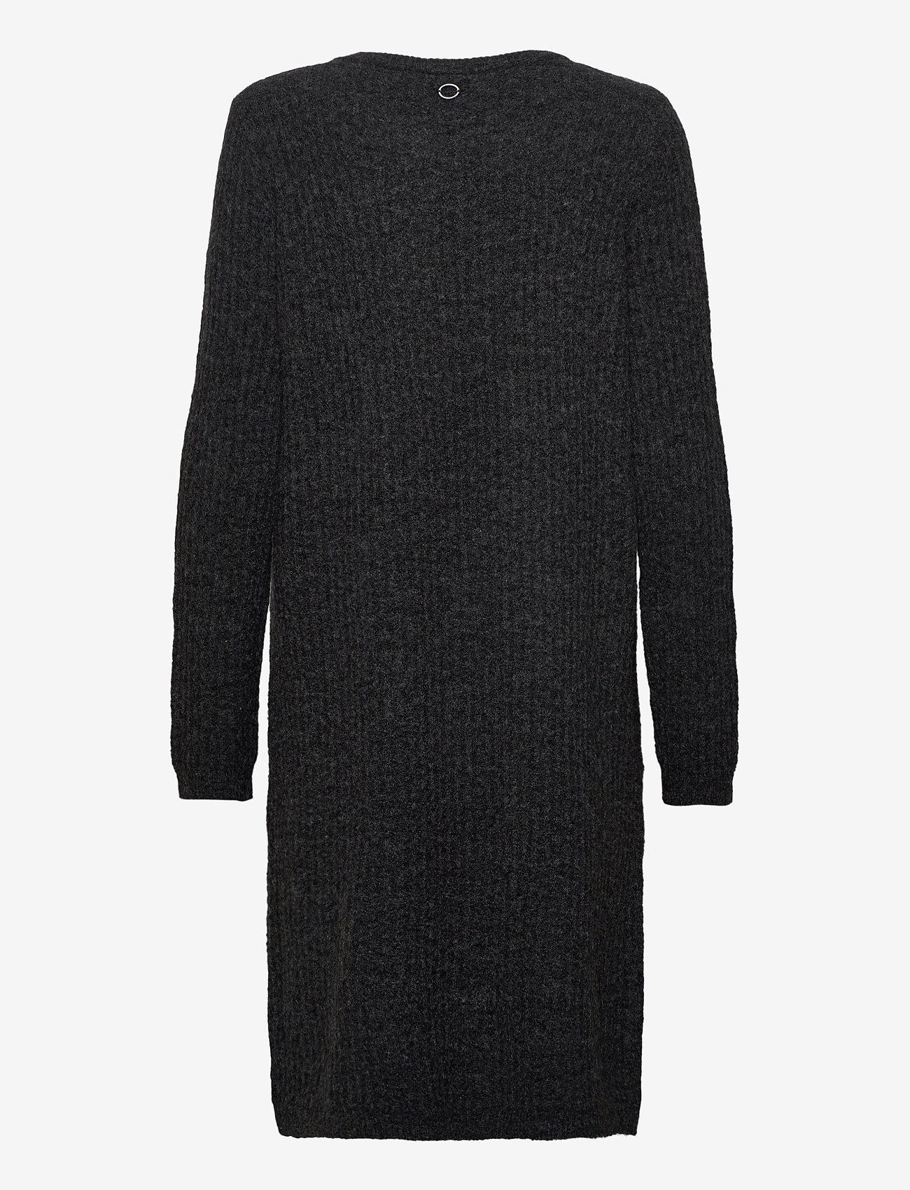 Fransa - FRMESANDY 3 Dress - gebreide jurken - black melange - 1