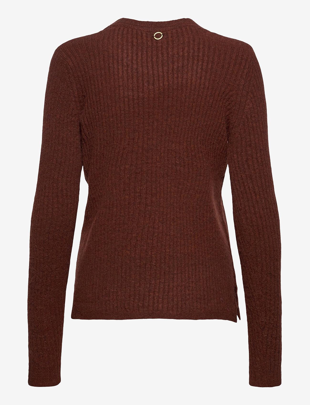 Fransa - FRMEBLOCK 1 Pullover - jumpers - chocolate fondant melange - 1