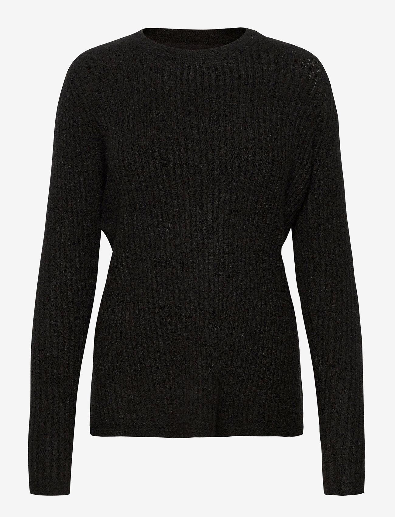 Fransa - FRMEBLOCK 1 Pullover - jumpers - black - 0