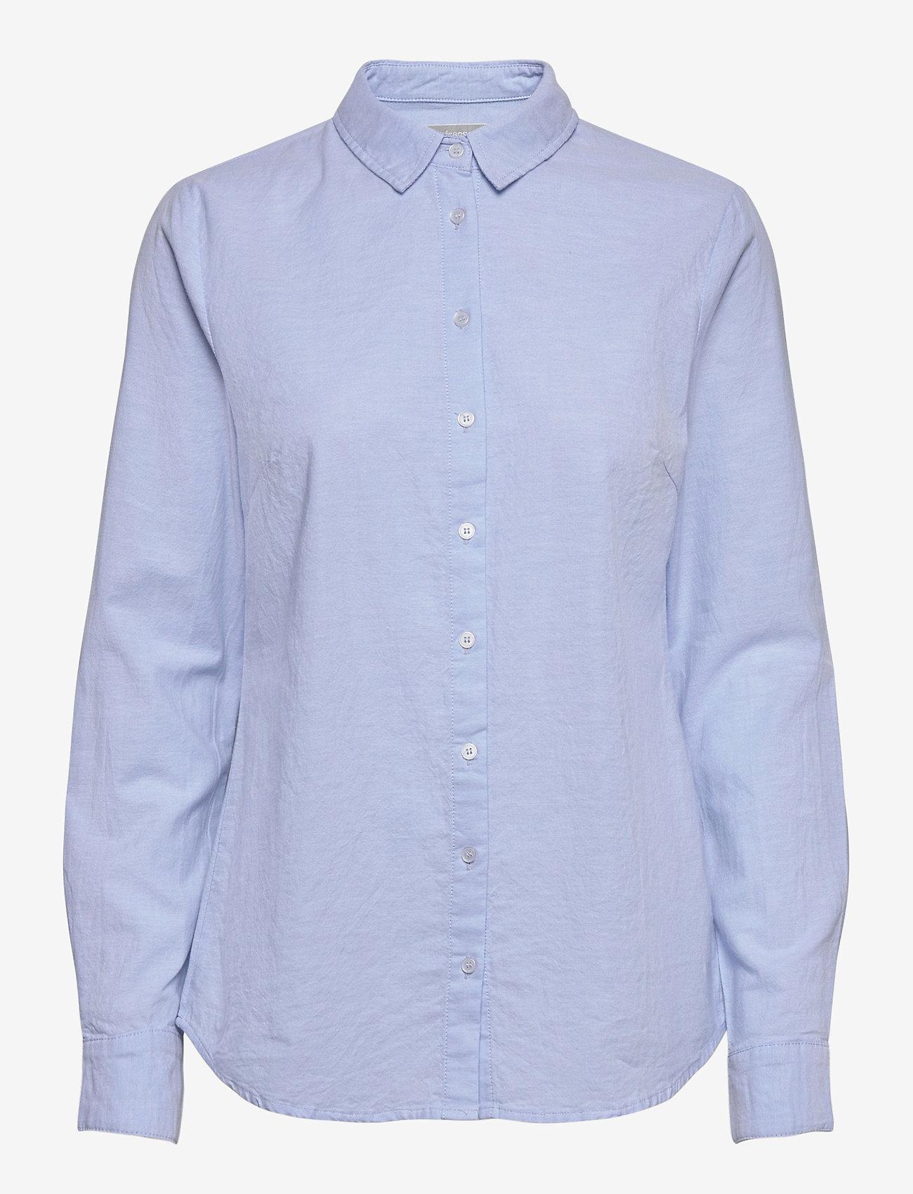 Fransa - FRZAOXFORD 1 Shirt - pitkähihaiset paidat - blue chambré - 0