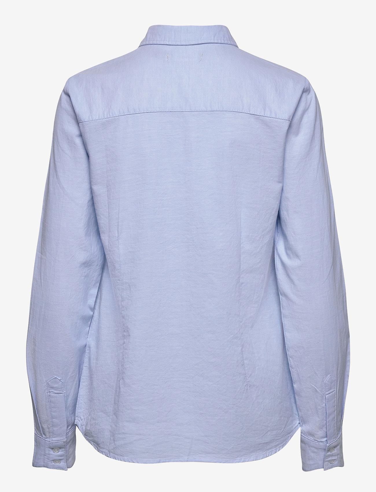 Fransa - FRZAOXFORD 1 Shirt - pitkähihaiset paidat - blue chambré - 1