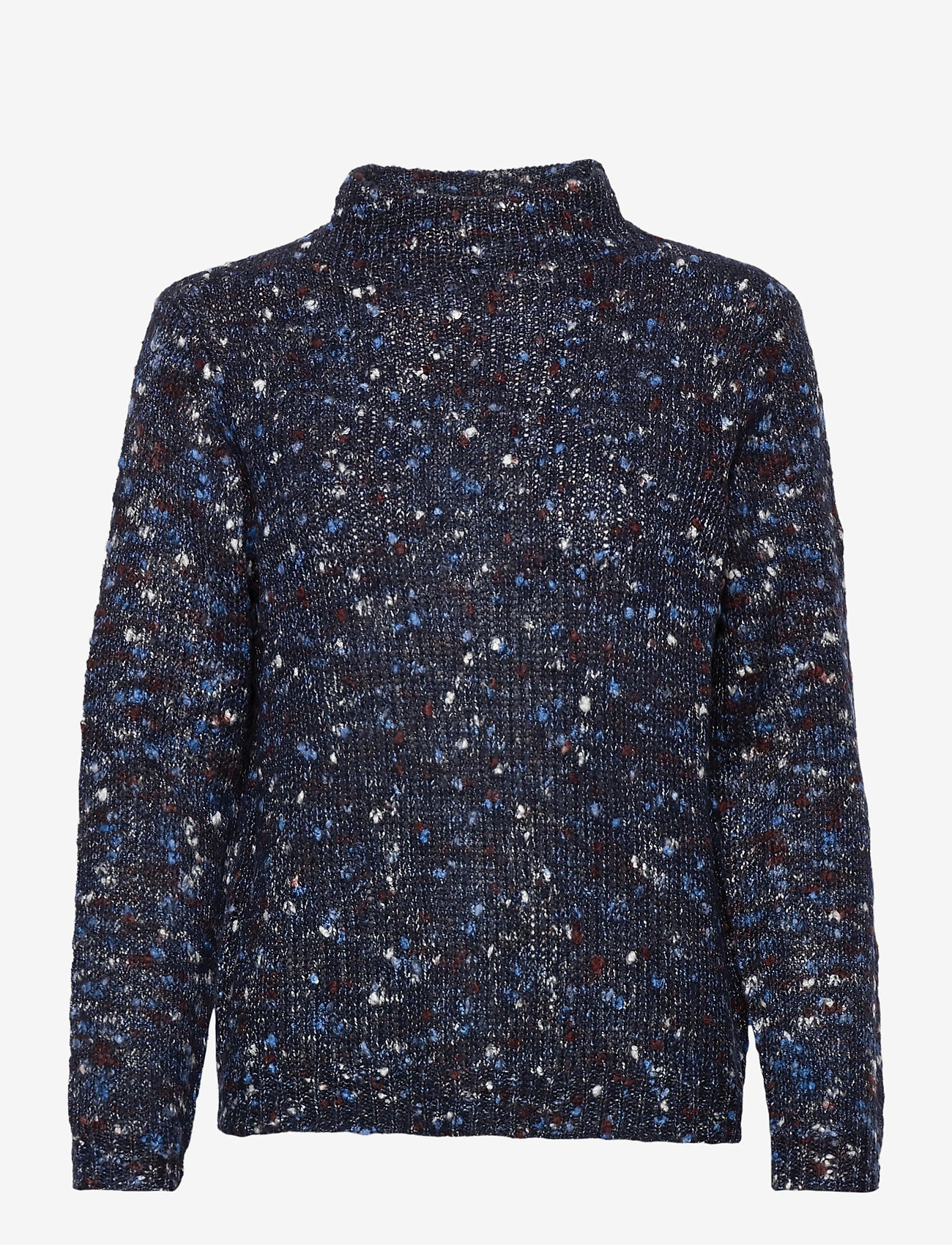 Fransa - FRMESPOT 1 Pullover - jumpers - navy blazer mix - 0