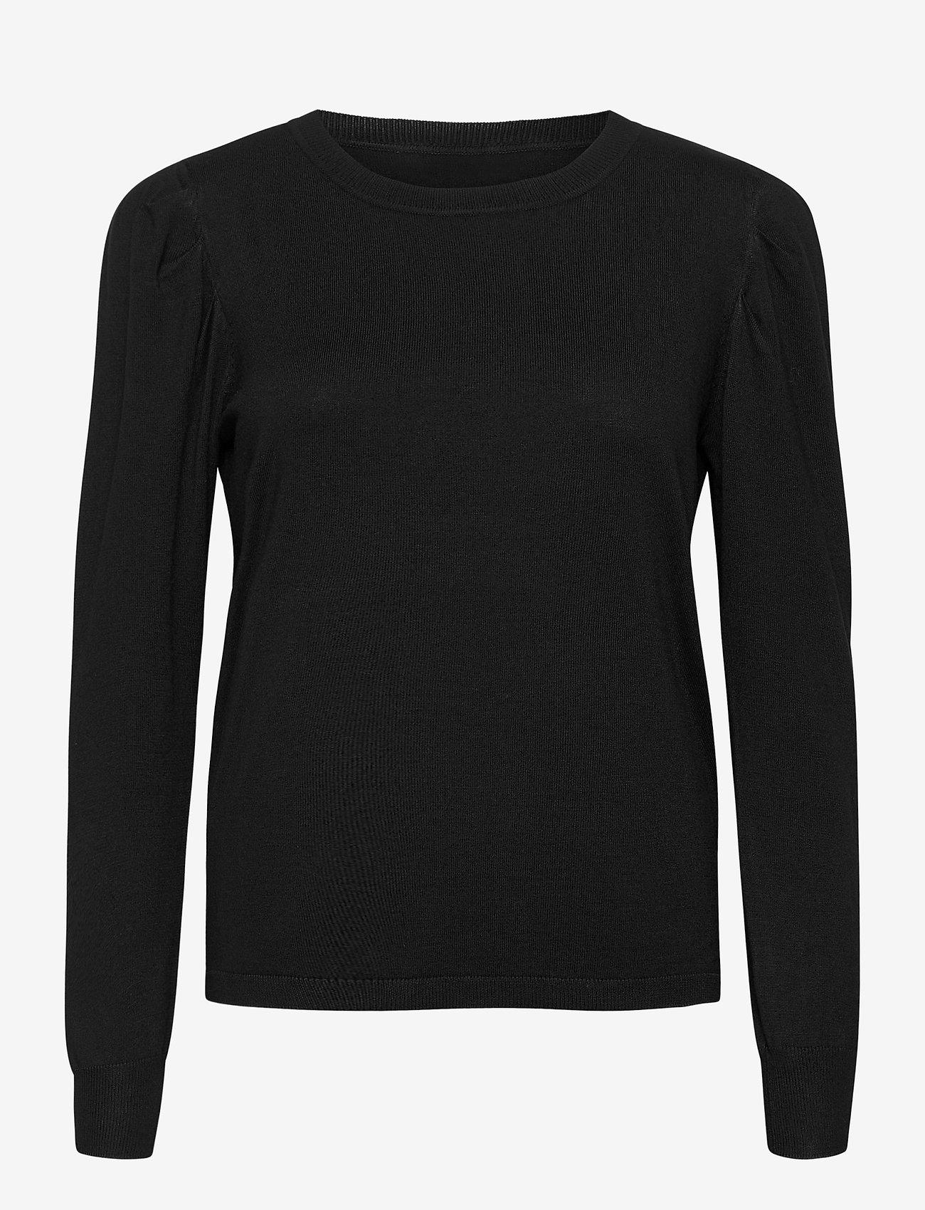 Fransa - ZUBASIC 130 Pullover - jumpers - black - 0