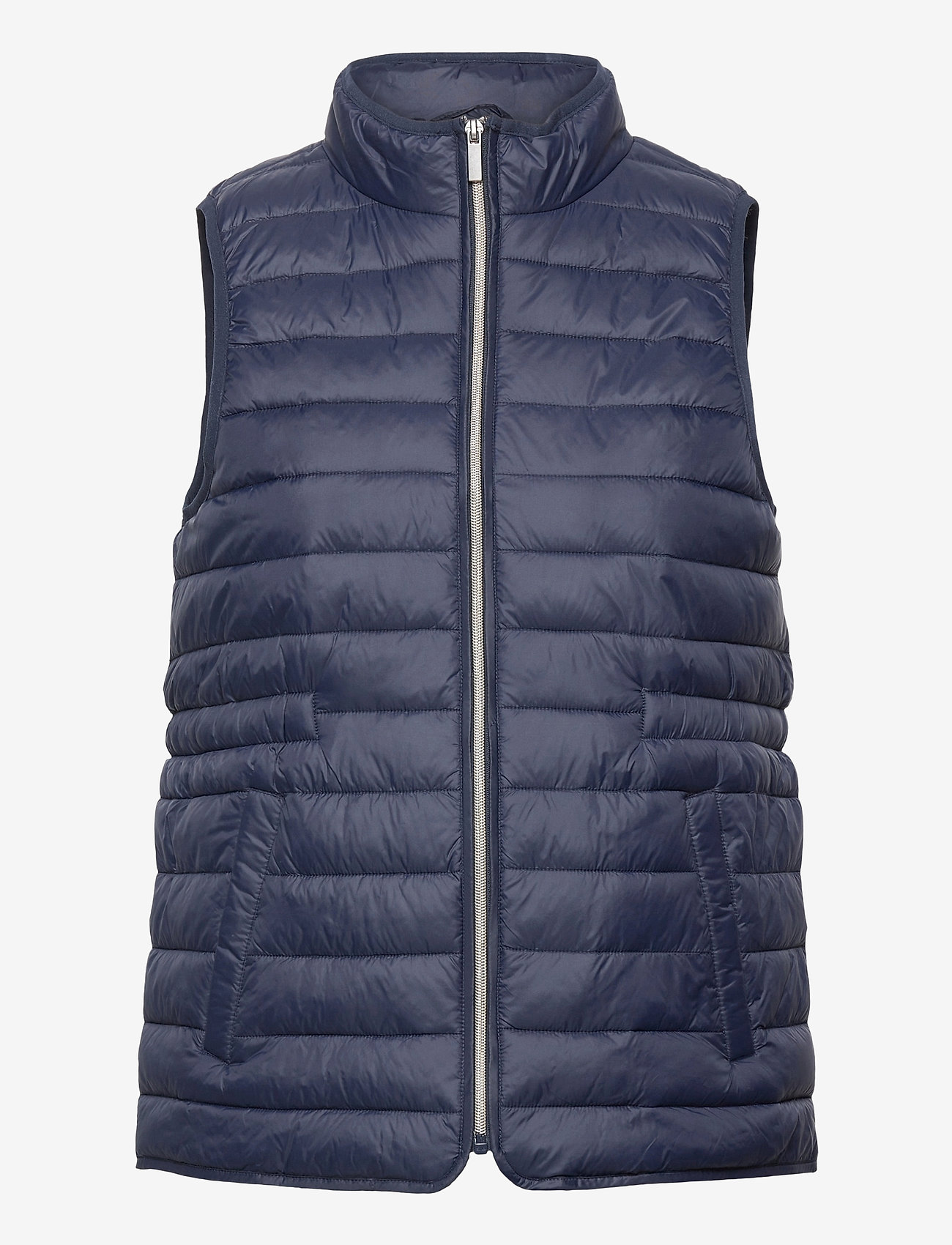 Fransa - FRPAPADDING 2 Outerwear - puffer vests - dark peacoat - 0