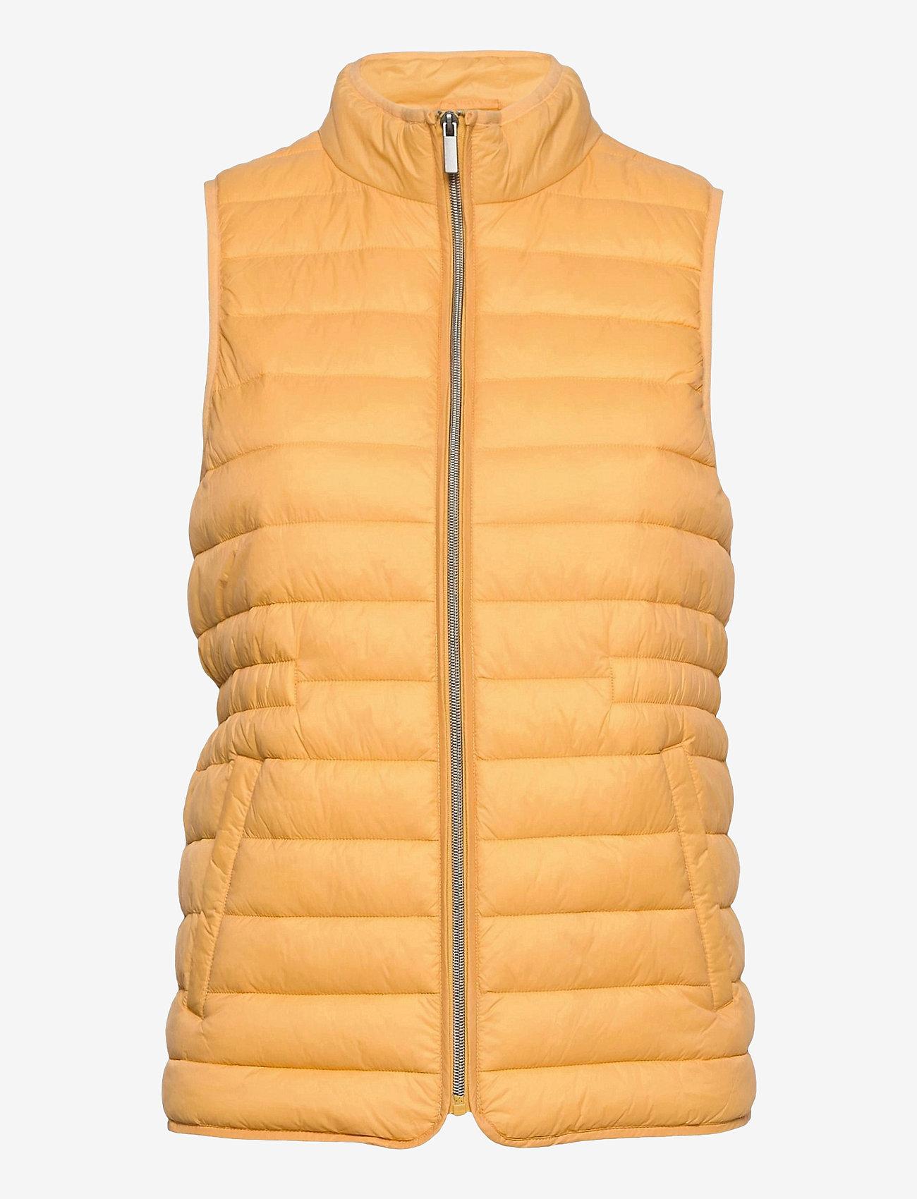 Fransa - FRPAPADDING 2 Outerwear - puffer vests - ochre - 0