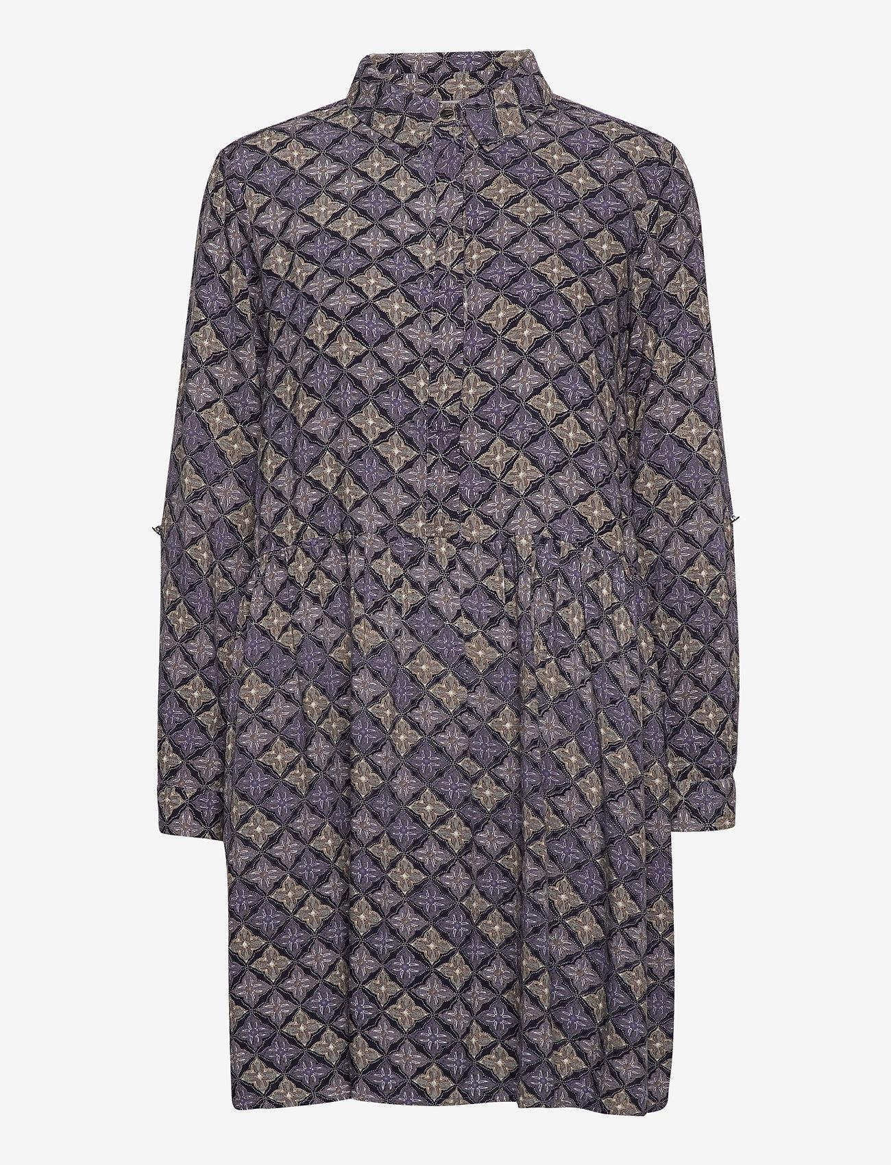 Fransa - FRMAORI 2 Dress - alledaagse jurken - dark peacoat mix - 0