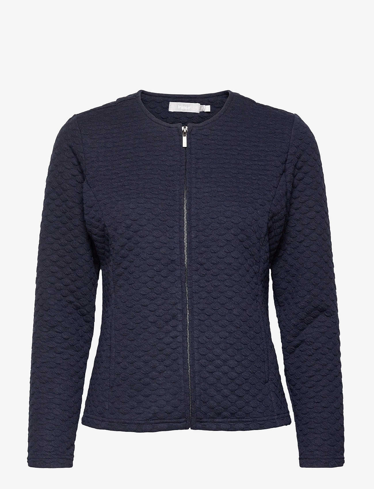 Fransa - FRPECARDI 1 Cardigan - cardigans - navy blazer - 0