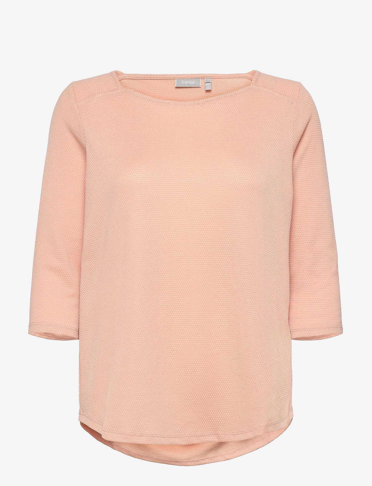 Fransa - FRPEJACQ 1 T-shirt - pitkähihaiset t-paidat - misty rose - 0
