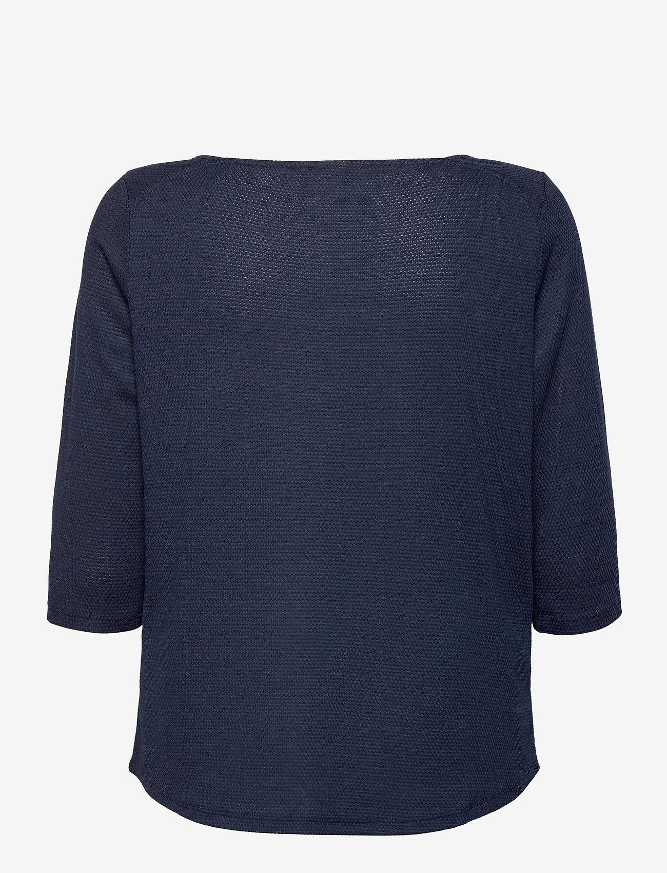 Fransa - FRPEJACQ 1 T-shirt - pitkähihaiset t-paidat - navy blazer - 1