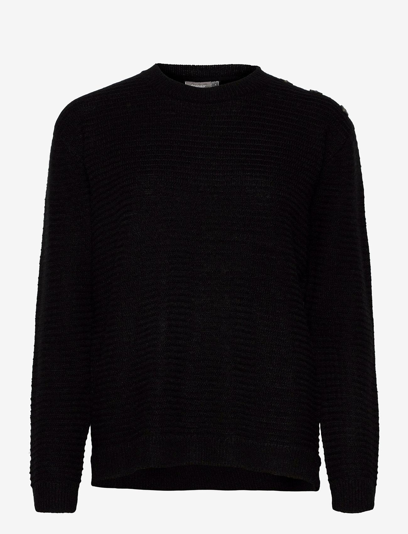 Fransa - FRLEMERETTA 1 Pullover - jumpers - black melange - 0