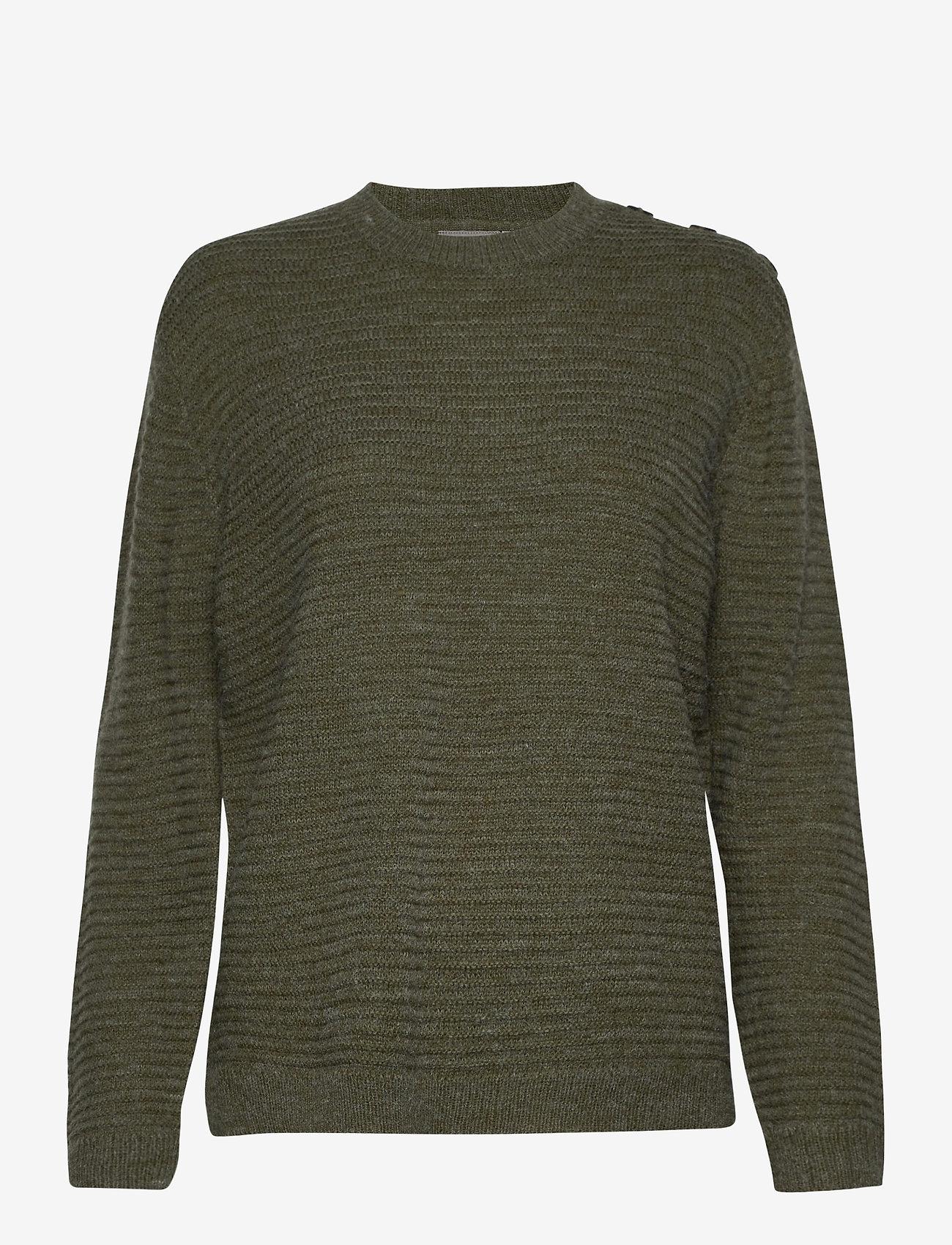 Fransa - FRLEMERETTA 1 Pullover - jumpers - hedge melange - 0