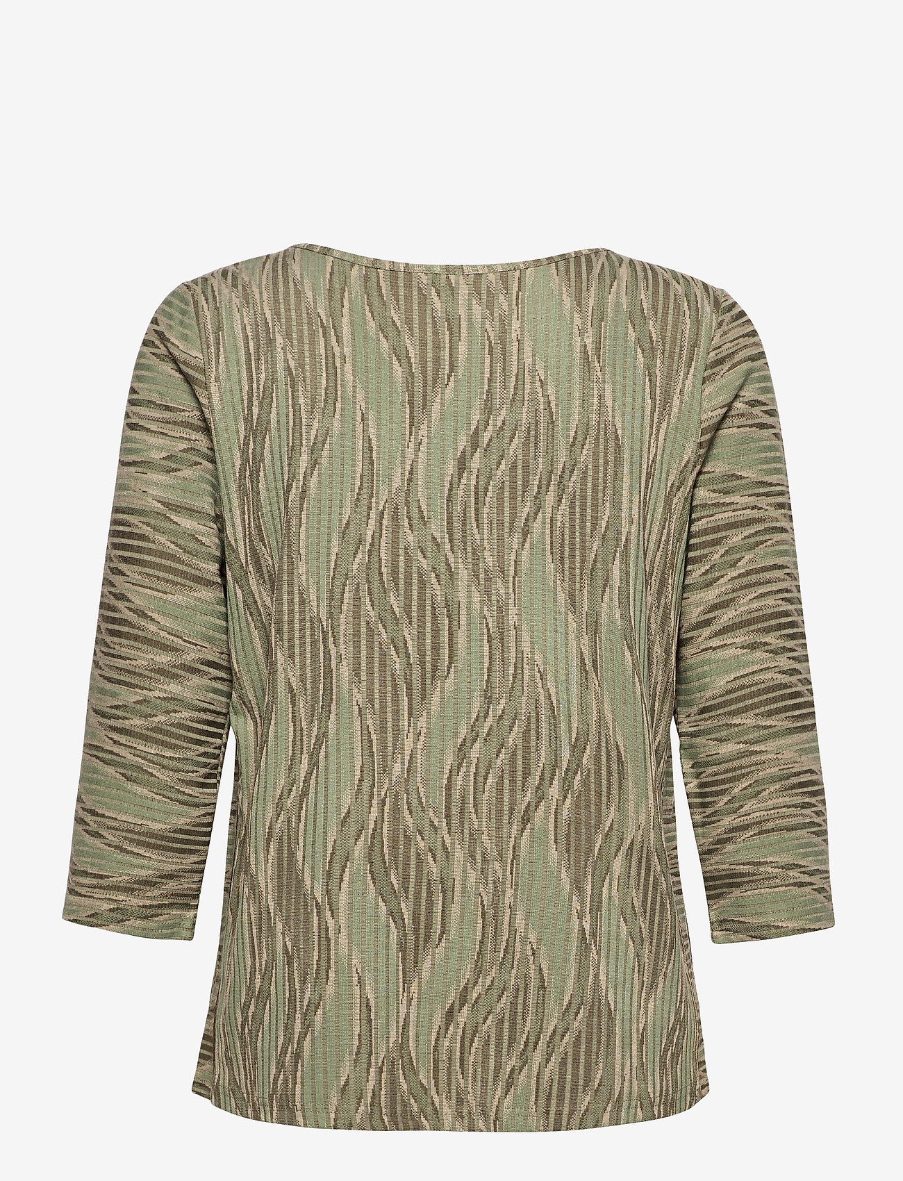 Fransa - FRPEMISO 1 T-shirt - pitkähihaiset t-paidat - hedge mix - 1