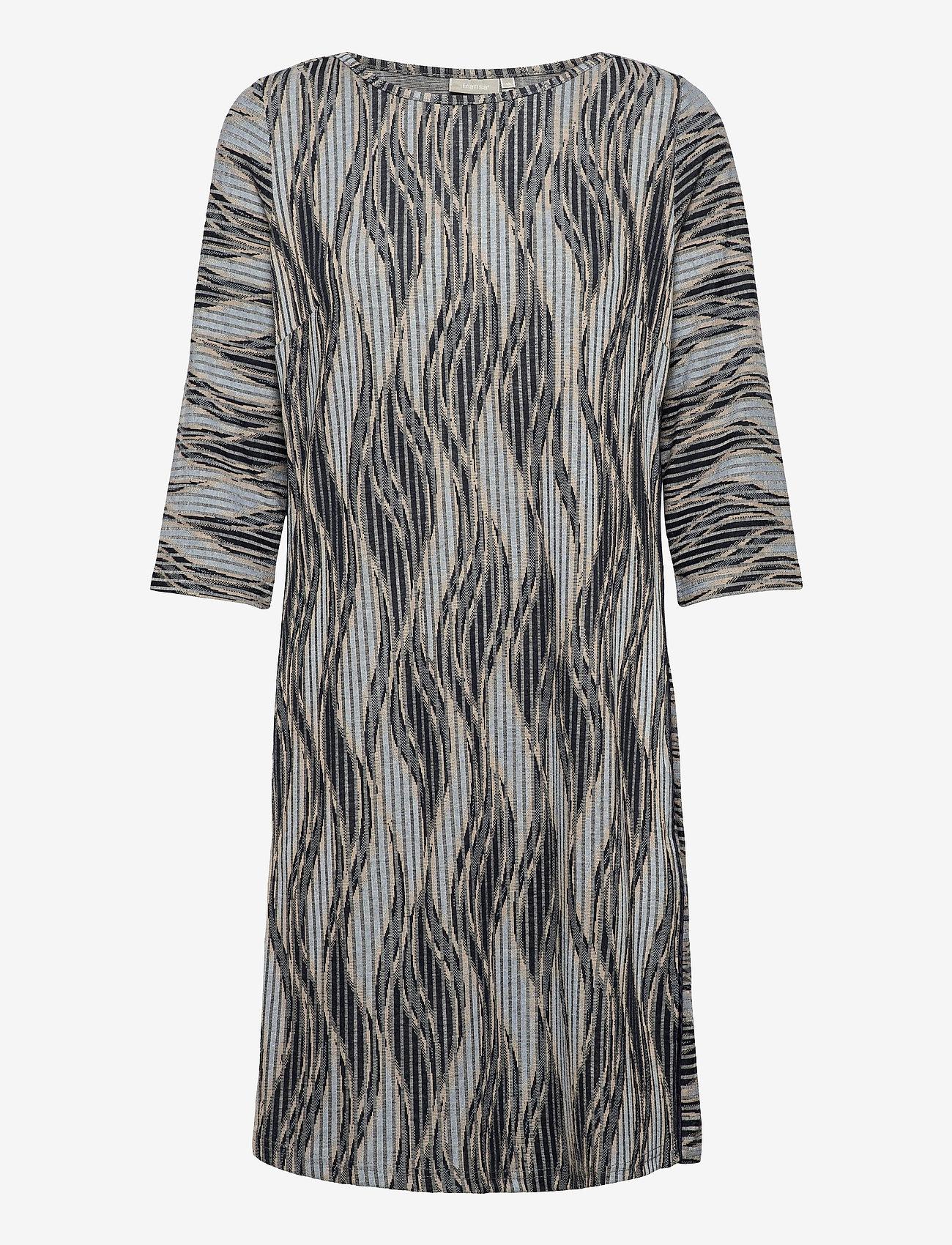 Fransa - FRPEMISO 2 Dress - alledaagse jurken - navy blazer mix - 0
