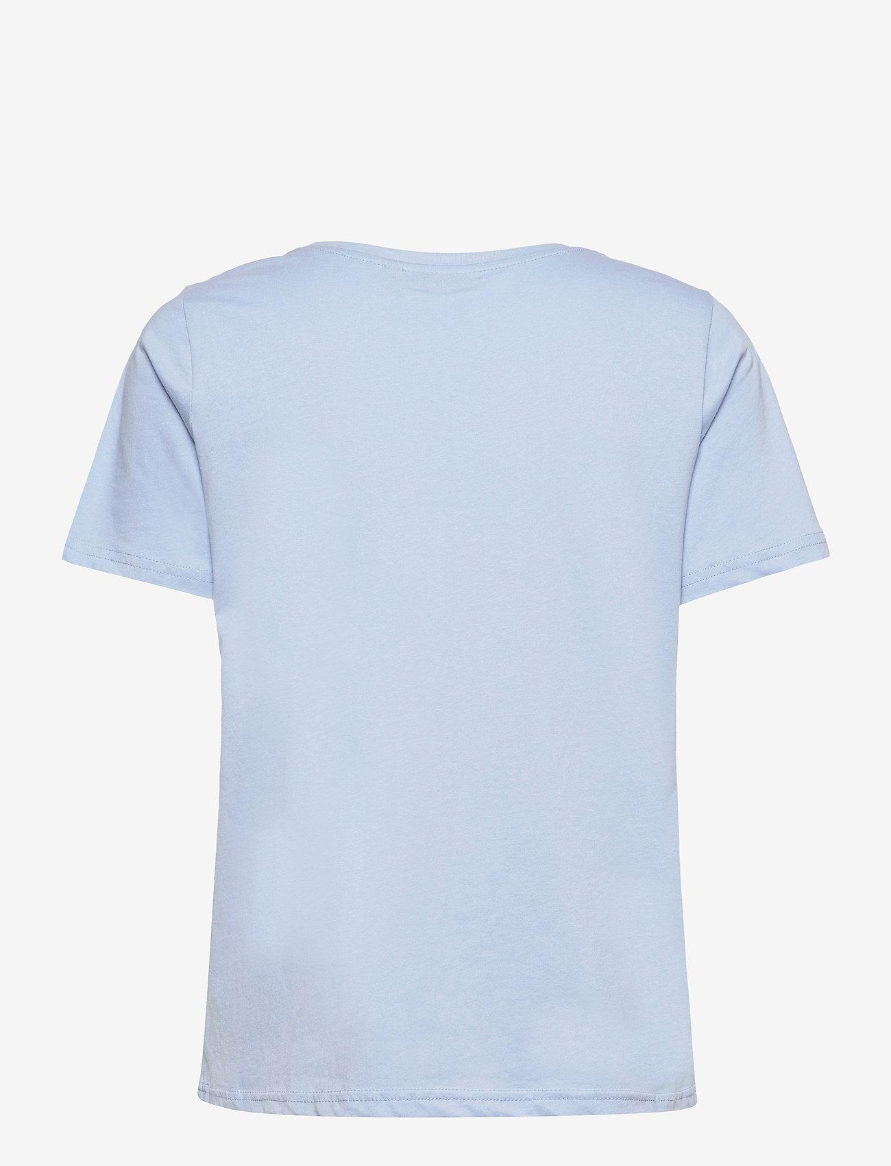 Fransa - FRPETEE 1 T-shirt - t-shirts - brunnera blue - 1
