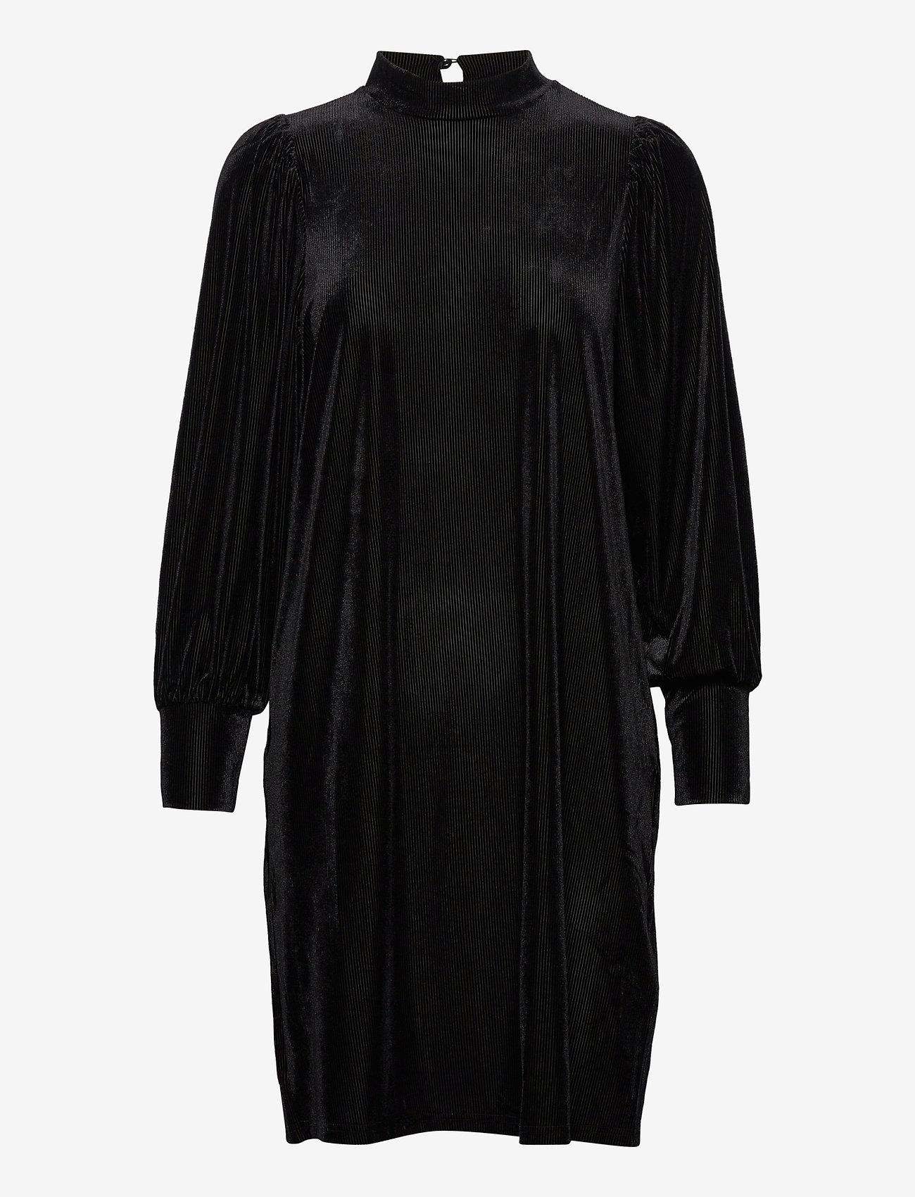Fransa - FRNEVELOUR 7 Dress - alledaagse jurken - black - 0