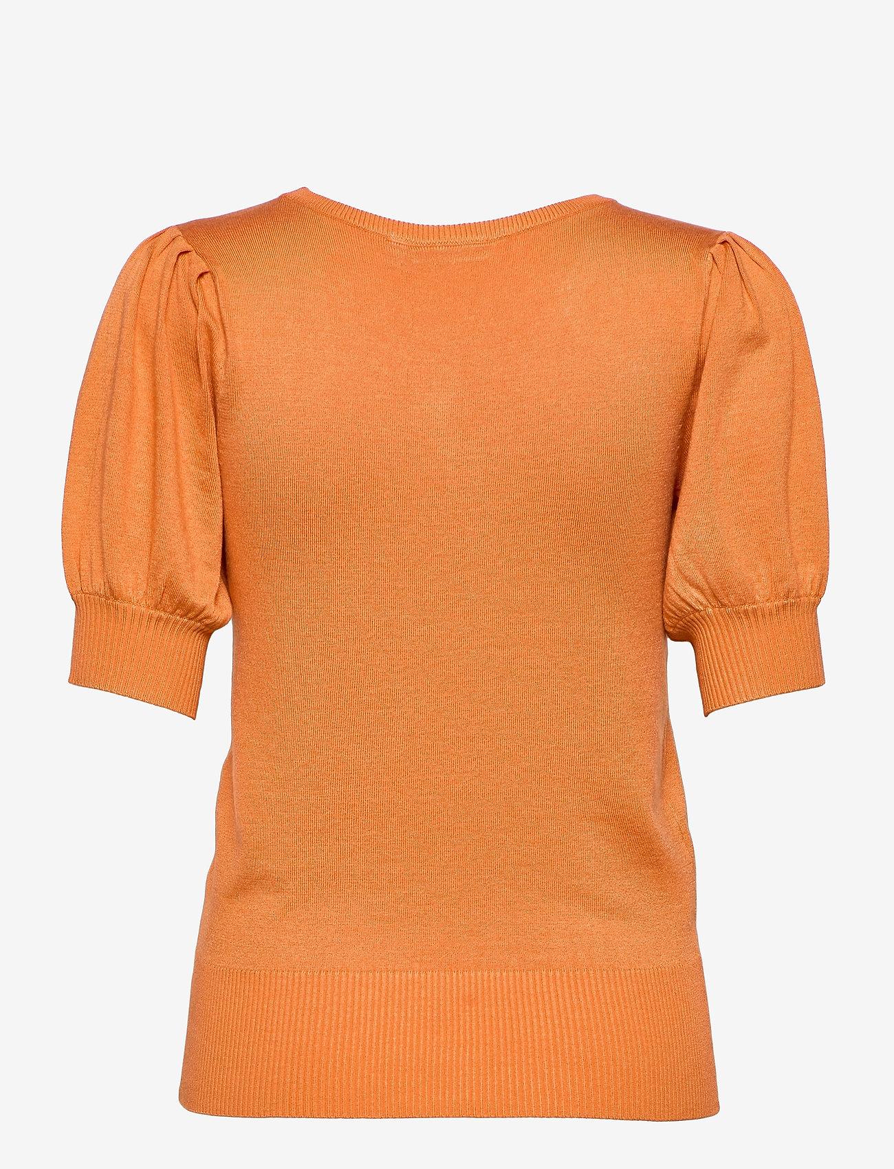 Fransa - ZUBASIC 135 Pullover - strikkede toppe - dusty orange - 1