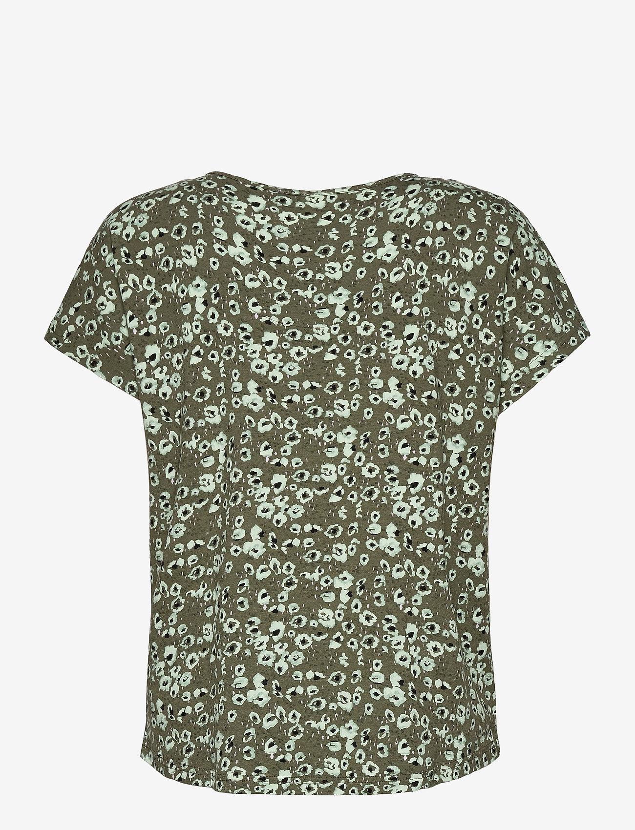 Fransa - FRVEDOT 1 T-shirt - t-shirts - hedge mix - 1