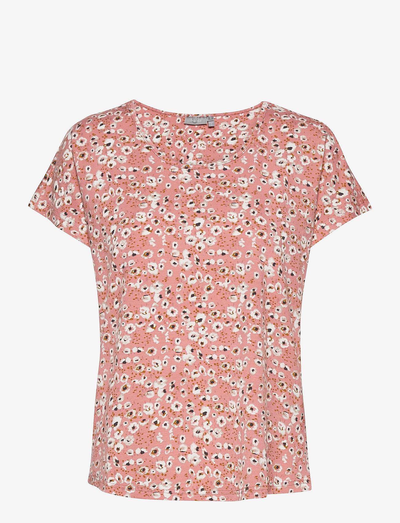 Fransa - FRVEDOT 1 T-shirt - t-shirts - misty rose mix - 0