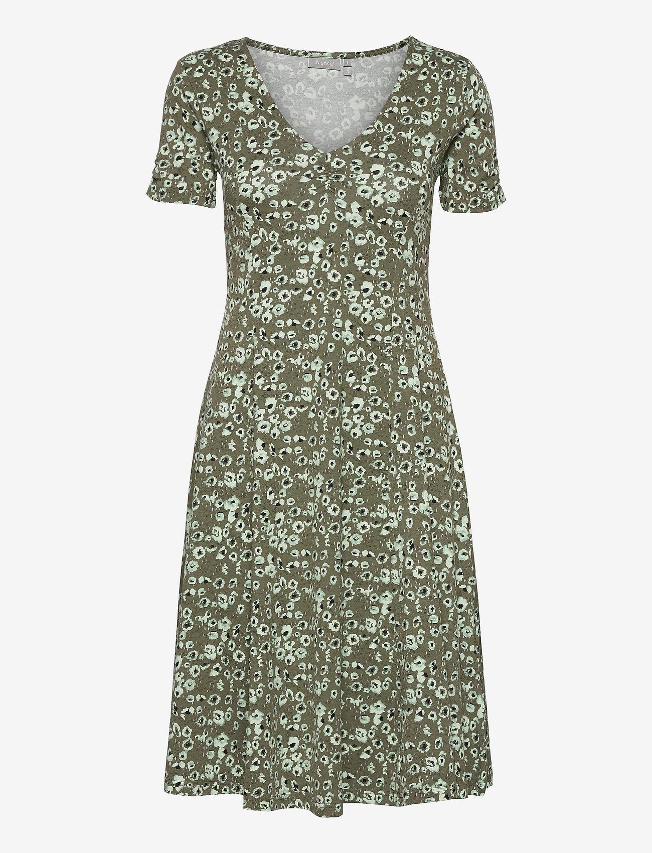 Fransa - FRVEDOT 2 Dress - hedge mix - 0