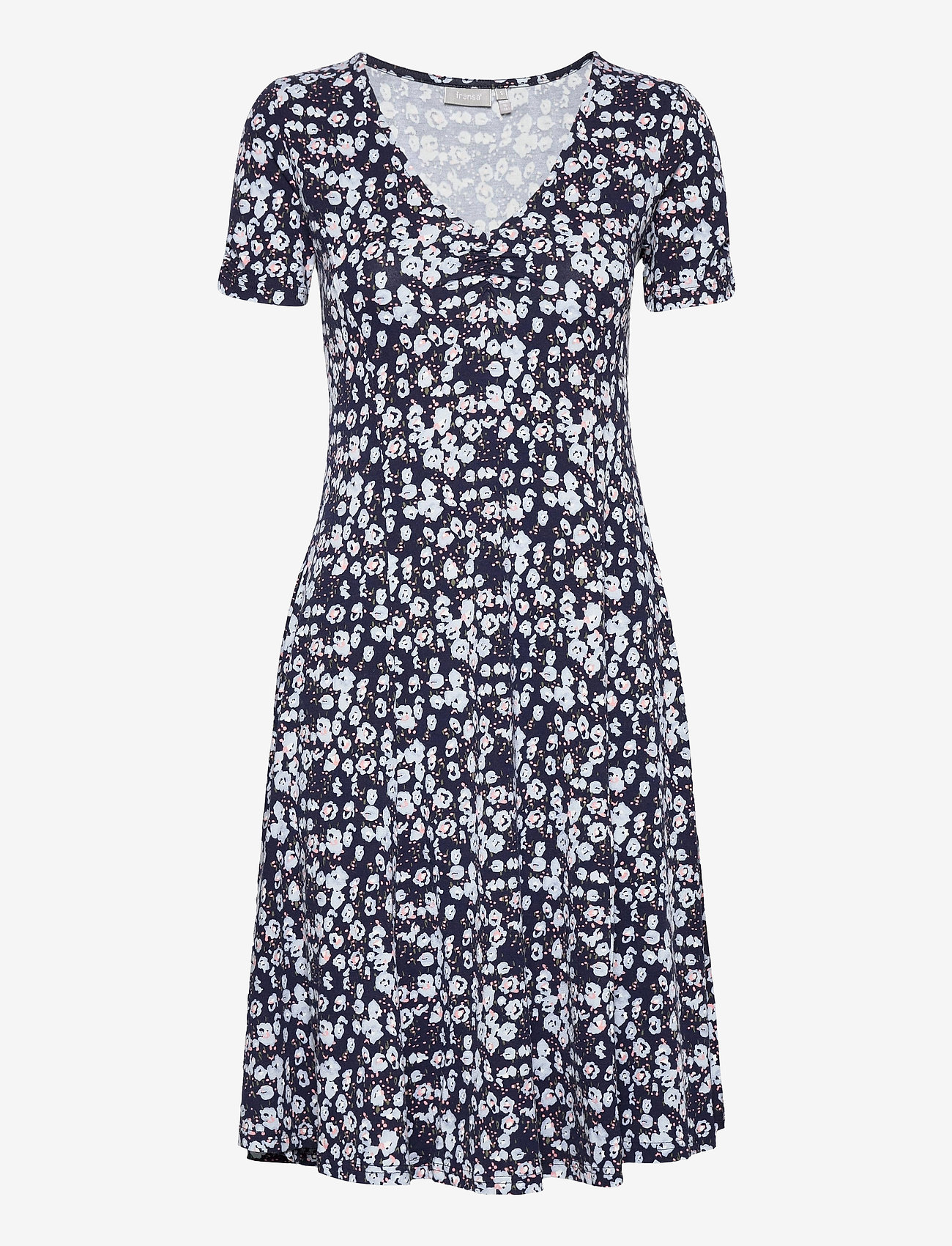 Fransa - FRVEDOT 2 Dress - zomerjurken - navy blazer mix - 0