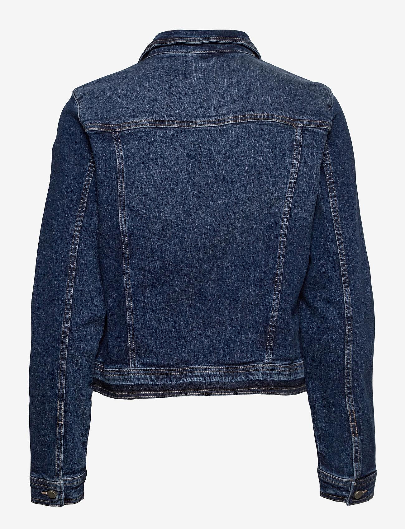 Fransa - FRVOCUT 1 Jacket - spijkerjassen - glossy blue denim - 1