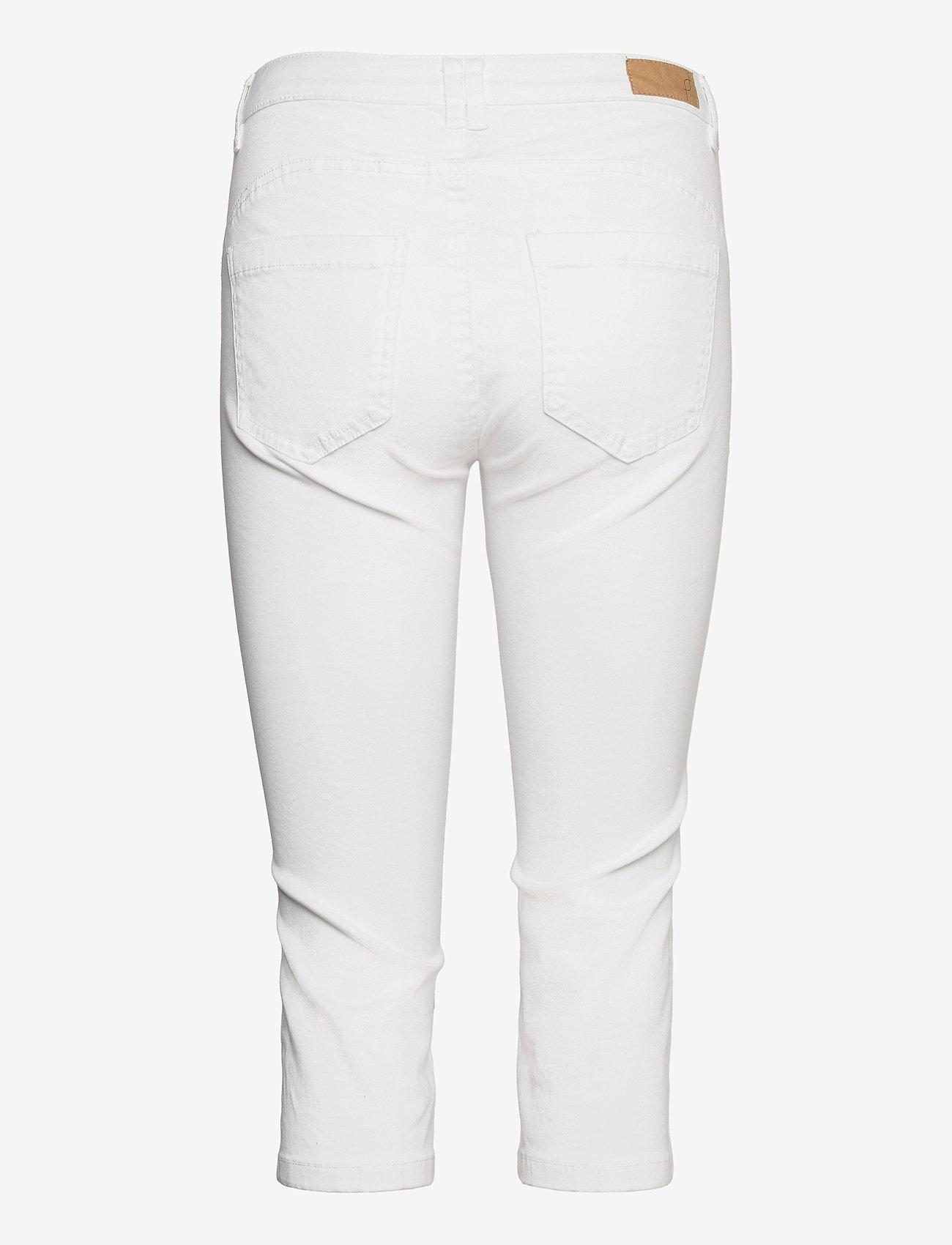Fransa - FRVOMAX 2 Pants - capribroek - white - 1