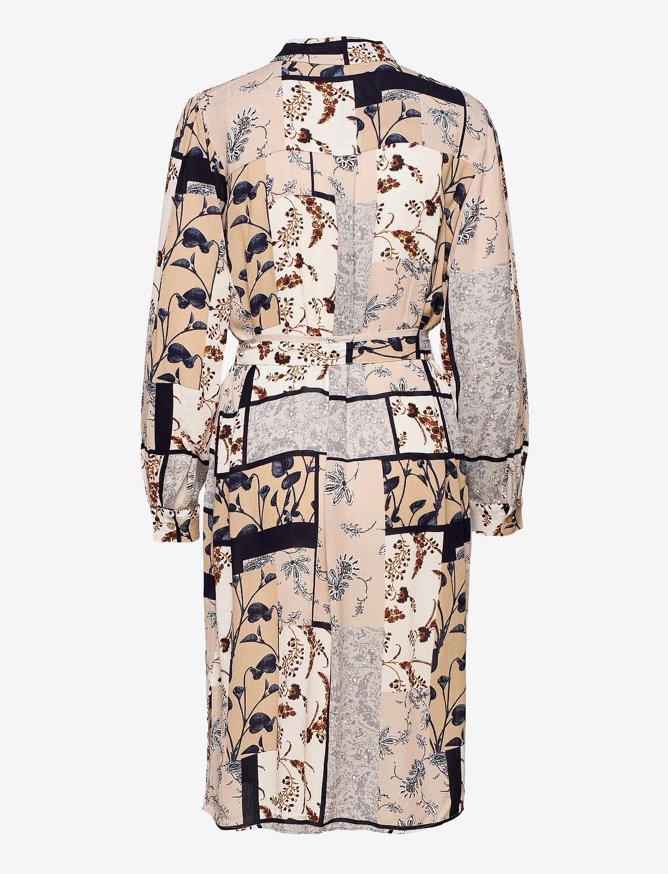 Fransa - FRVACRINKLE 5 Dress - blousejurken - navy blazer mix - 1
