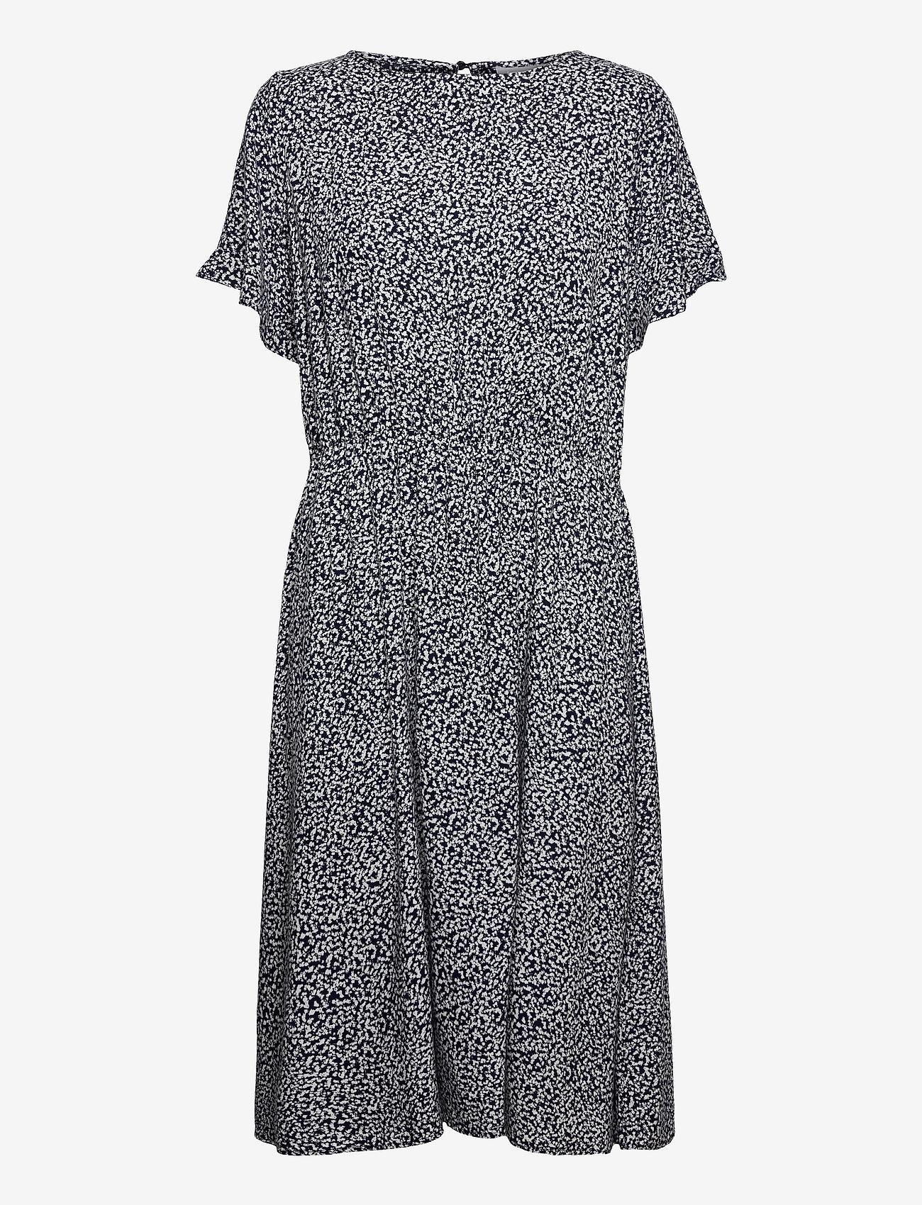 Fransa - FRVARILLI 1 Dress - zomerjurken - navy blazer mix - 0