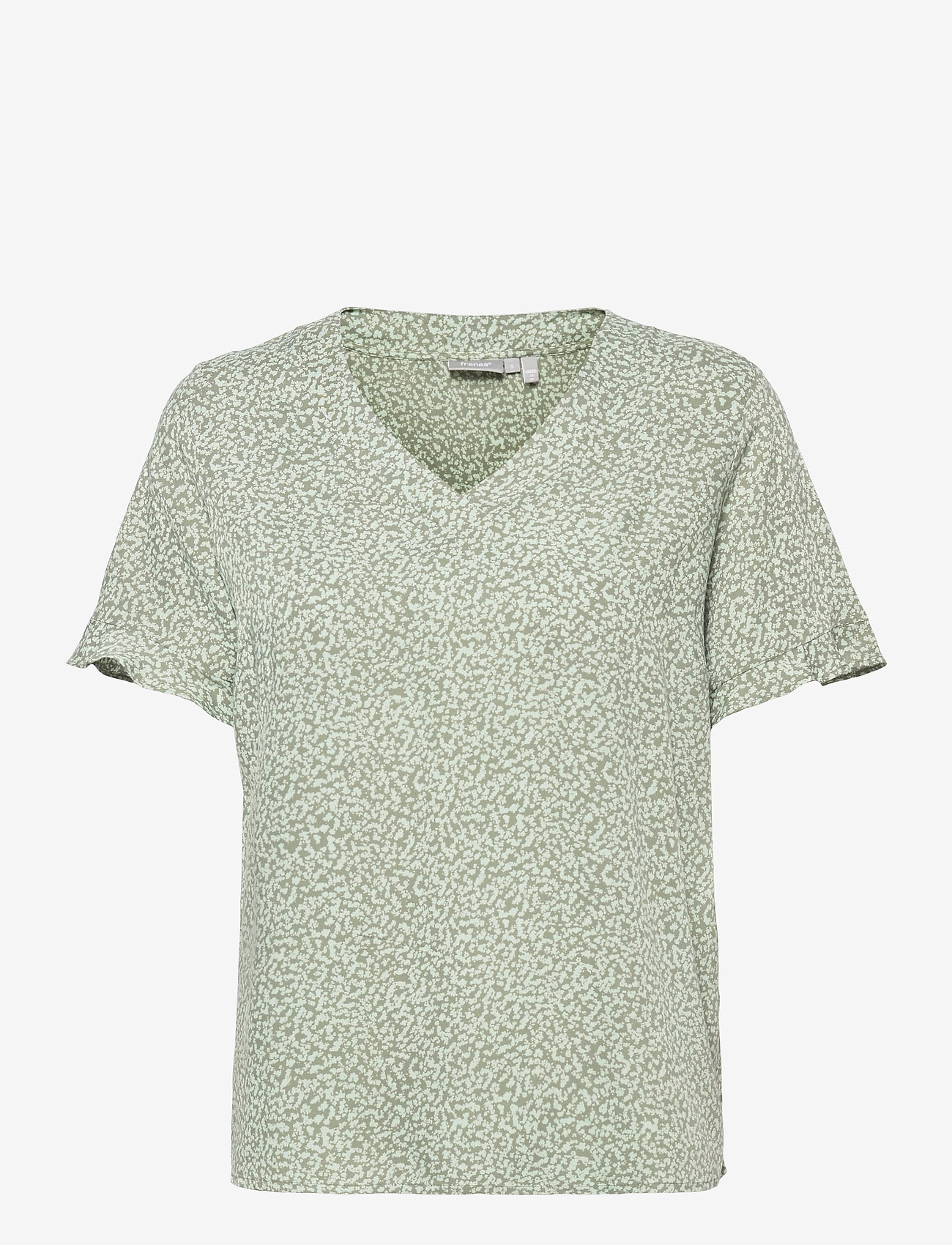 Fransa - FRVARILLI 2 Blouse - blouses met korte mouwen - lily pad mix - 0