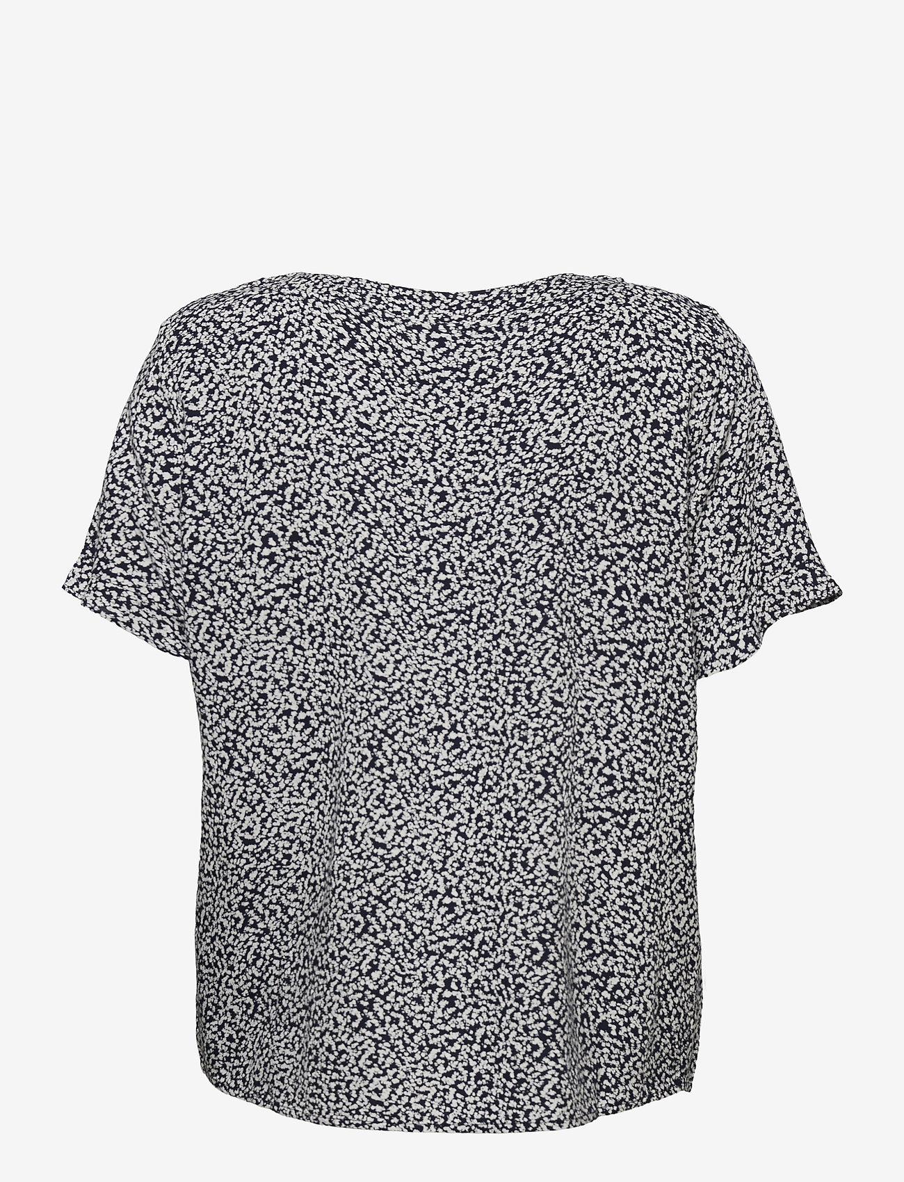 Fransa - FRVARILLI 2 Blouse - blouses met korte mouwen - navy blazer mix - 1