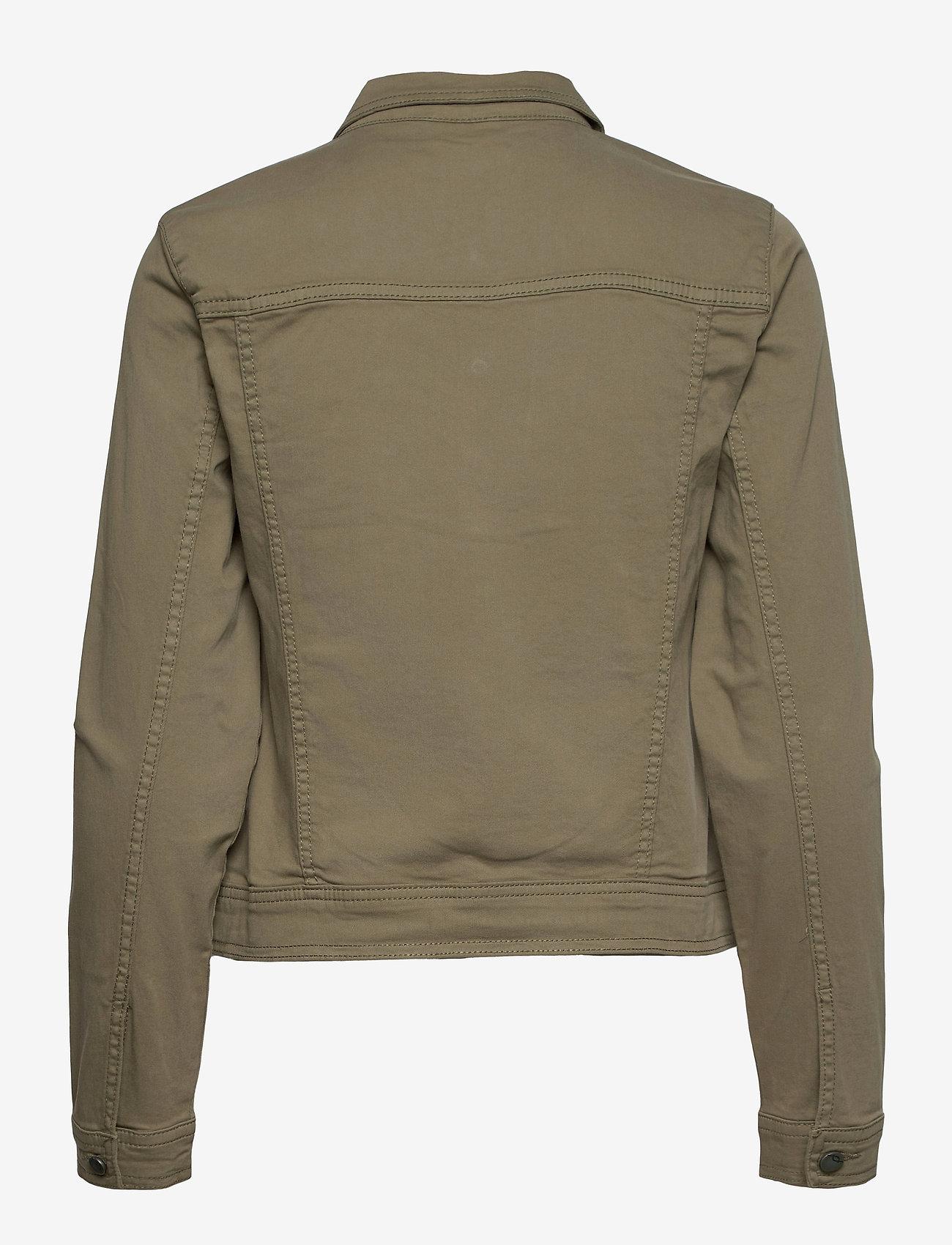 Fransa - FRVOTWILL 1 Jacket - spijkerjassen - hedge - 1