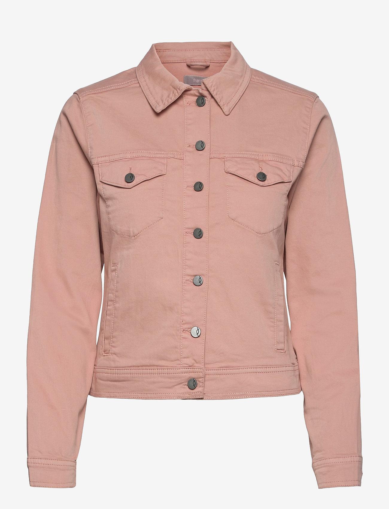 Fransa - FRVOTWILL 1 Jacket - spijkerjassen - misty rose - 0