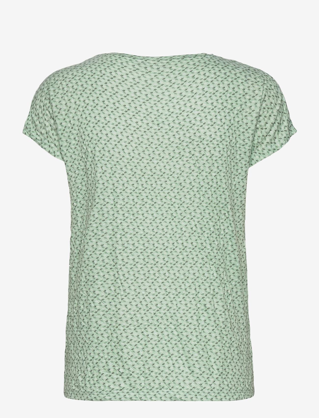 Fransa - FRVECRINK 1 T-shirt - t-shirts - aqua foam mix - 1
