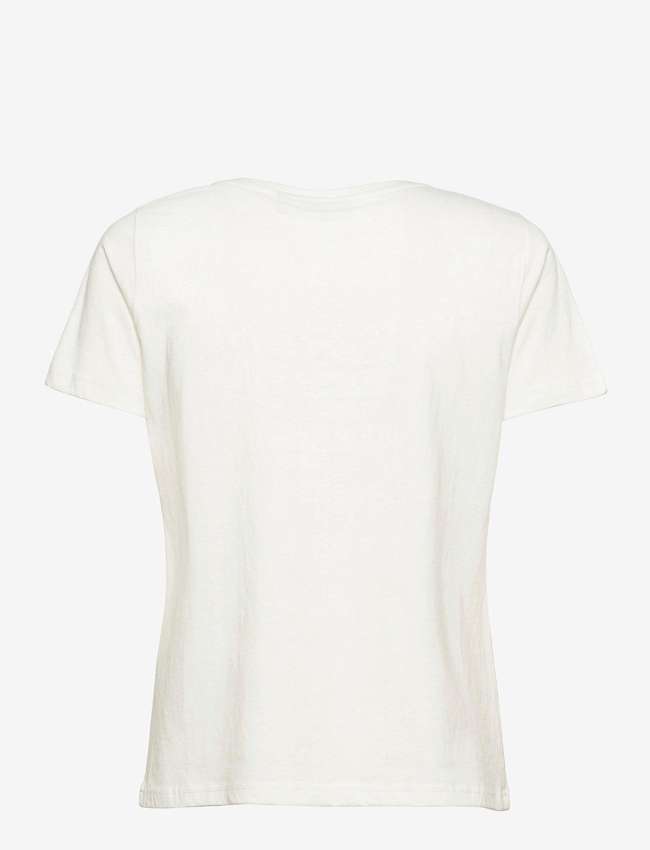 Fransa - FRPETEE 2 T-shirt - hihattomat topit - antique mix - 1