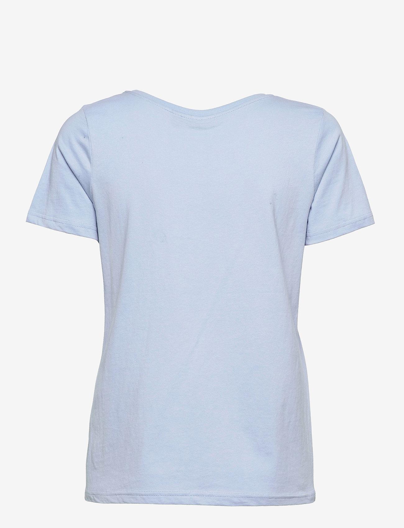 Fransa - FRPETEE 2 T-shirt - hihattomat topit - brunnera blue - 1