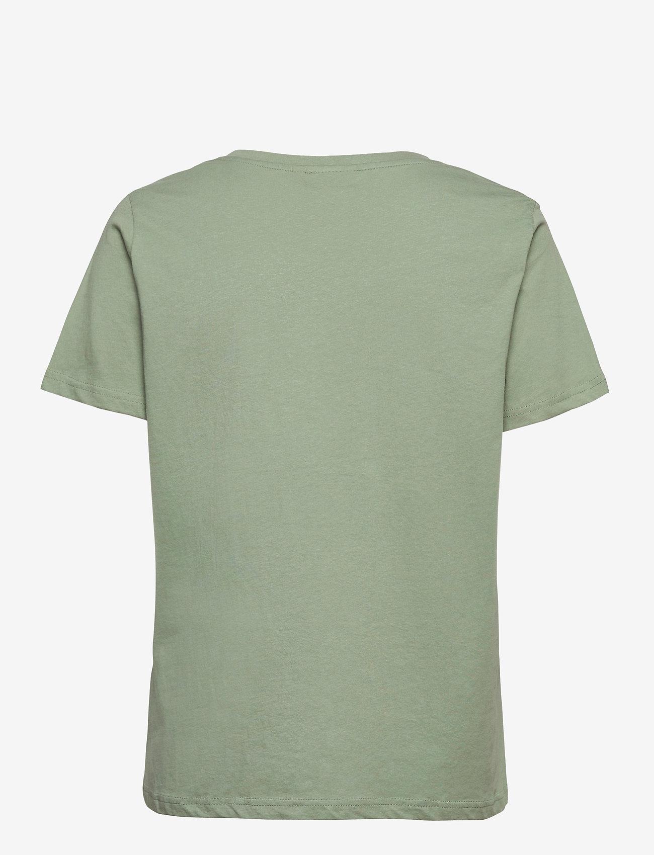 Fransa - FRPETEE 2 T-shirt - hihattomat topit - lily pad - 1