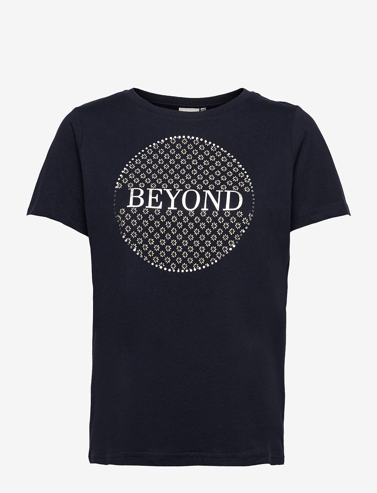 Fransa - FRPETEE 2 T-shirt - hihattomat topit - navy blazer mix - 0