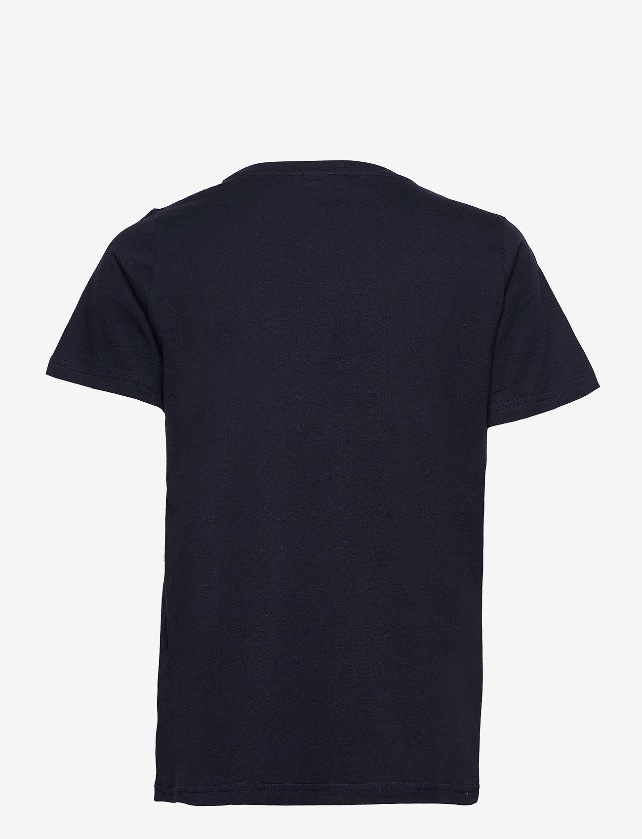 Fransa - FRPETEE 2 T-shirt - hihattomat topit - navy blazer mix - 1